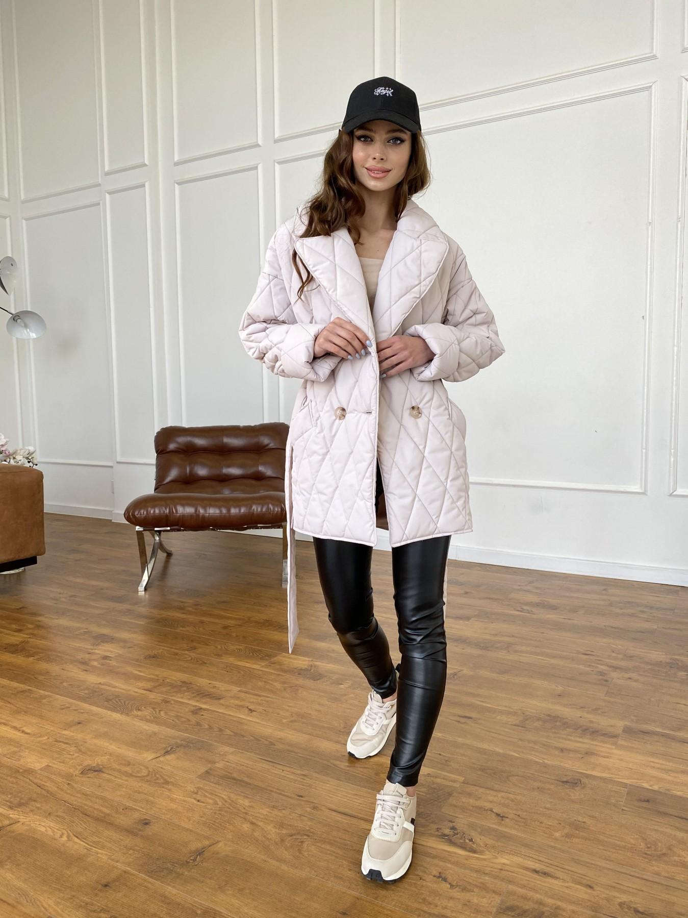 Норд куртка из плащевой ткани стеганая 10883 АРТ. 47551 Цвет: Бежевый 970 - фото 11, интернет магазин tm-modus.ru