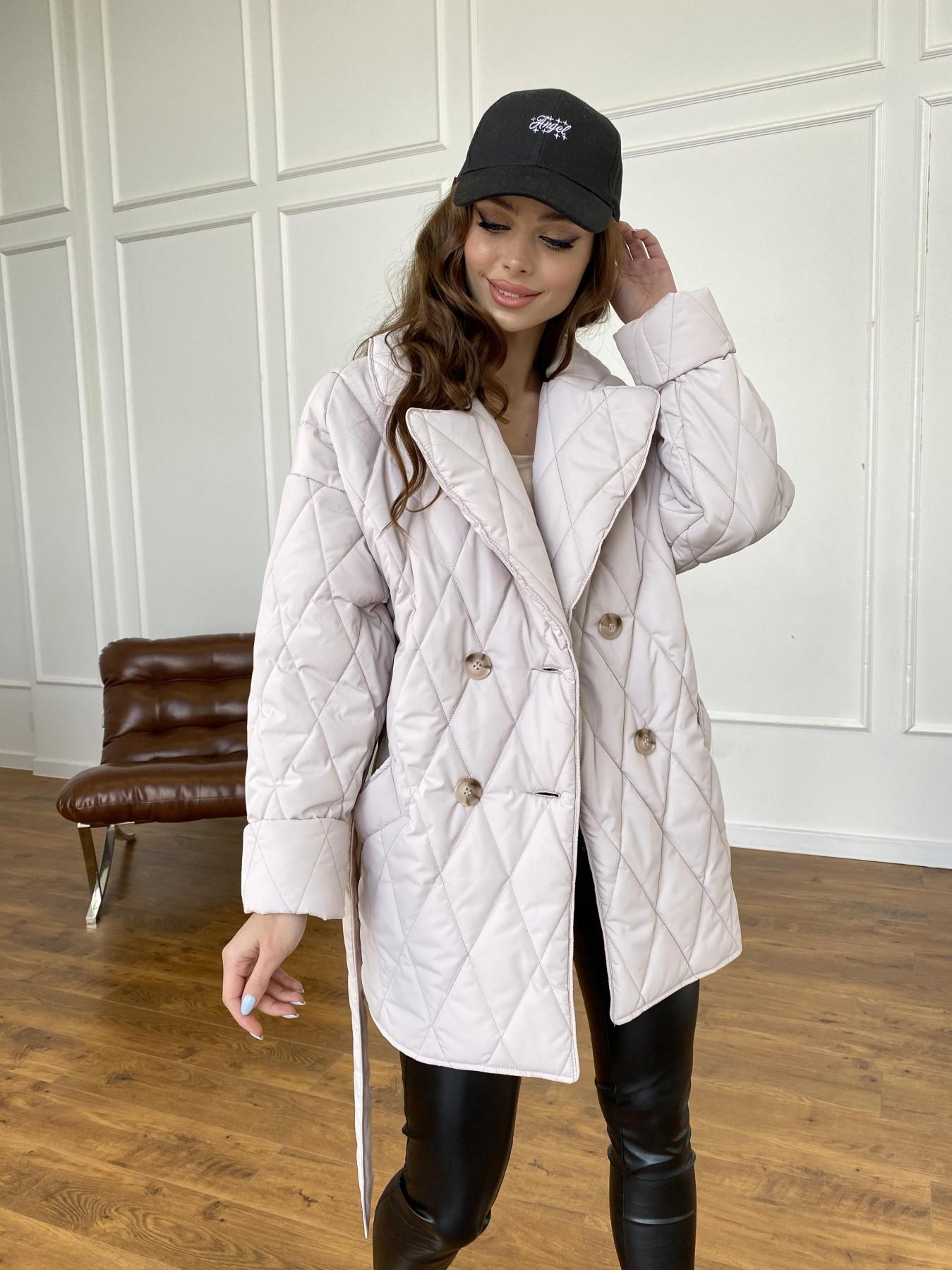 Норд куртка из плащевой ткани стеганая 10883 АРТ. 47551 Цвет: Бежевый 970 - фото 13, интернет магазин tm-modus.ru
