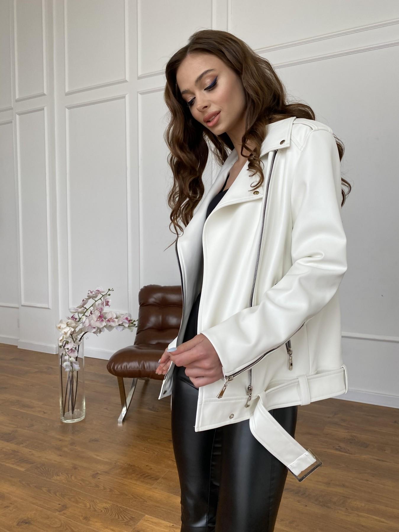 куртка женская купить Босс куртка из экокожи прокатанной  11173