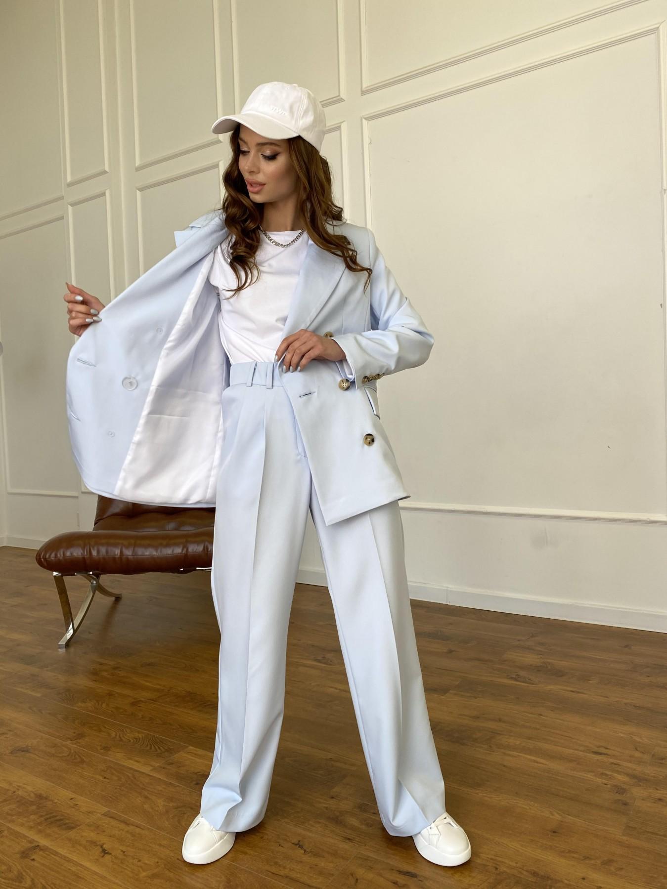 Белисимо жакет из костюмной ткани  стрейч 11192 АРТ. 47697 Цвет: Голубой - фото 7, интернет магазин tm-modus.ru