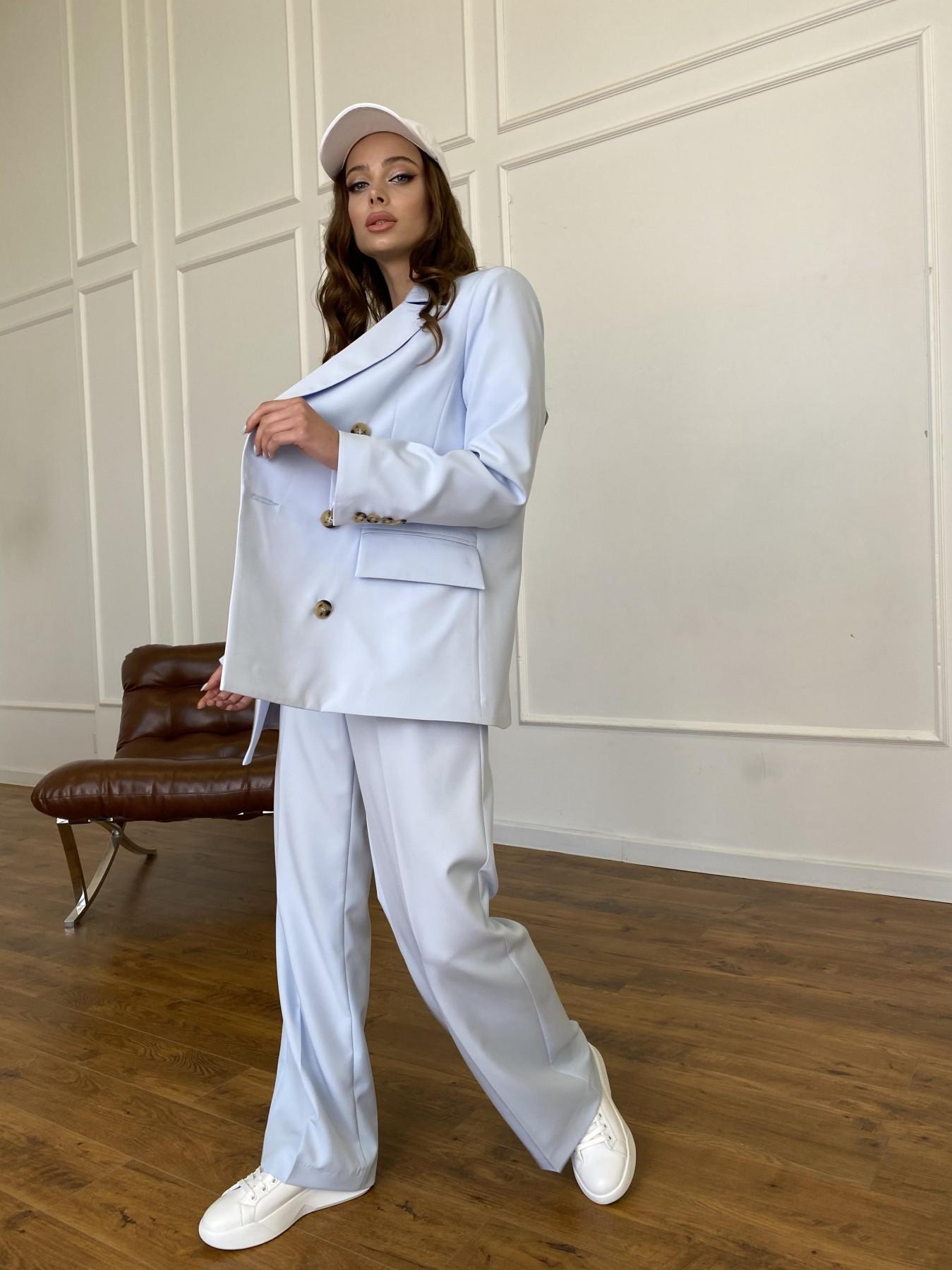 Белисимо жакет из костюмной ткани  стрейч 11192 АРТ. 47697 Цвет: Голубой - фото 8, интернет магазин tm-modus.ru