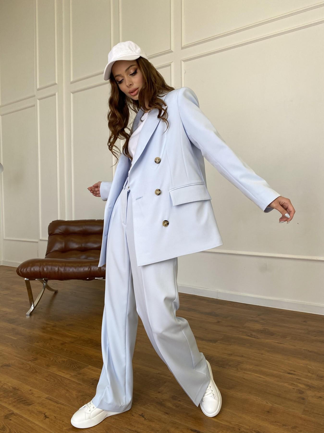 Белисимо жакет из костюмной ткани  стрейч 11192 АРТ. 47697 Цвет: Голубой - фото 9, интернет магазин tm-modus.ru