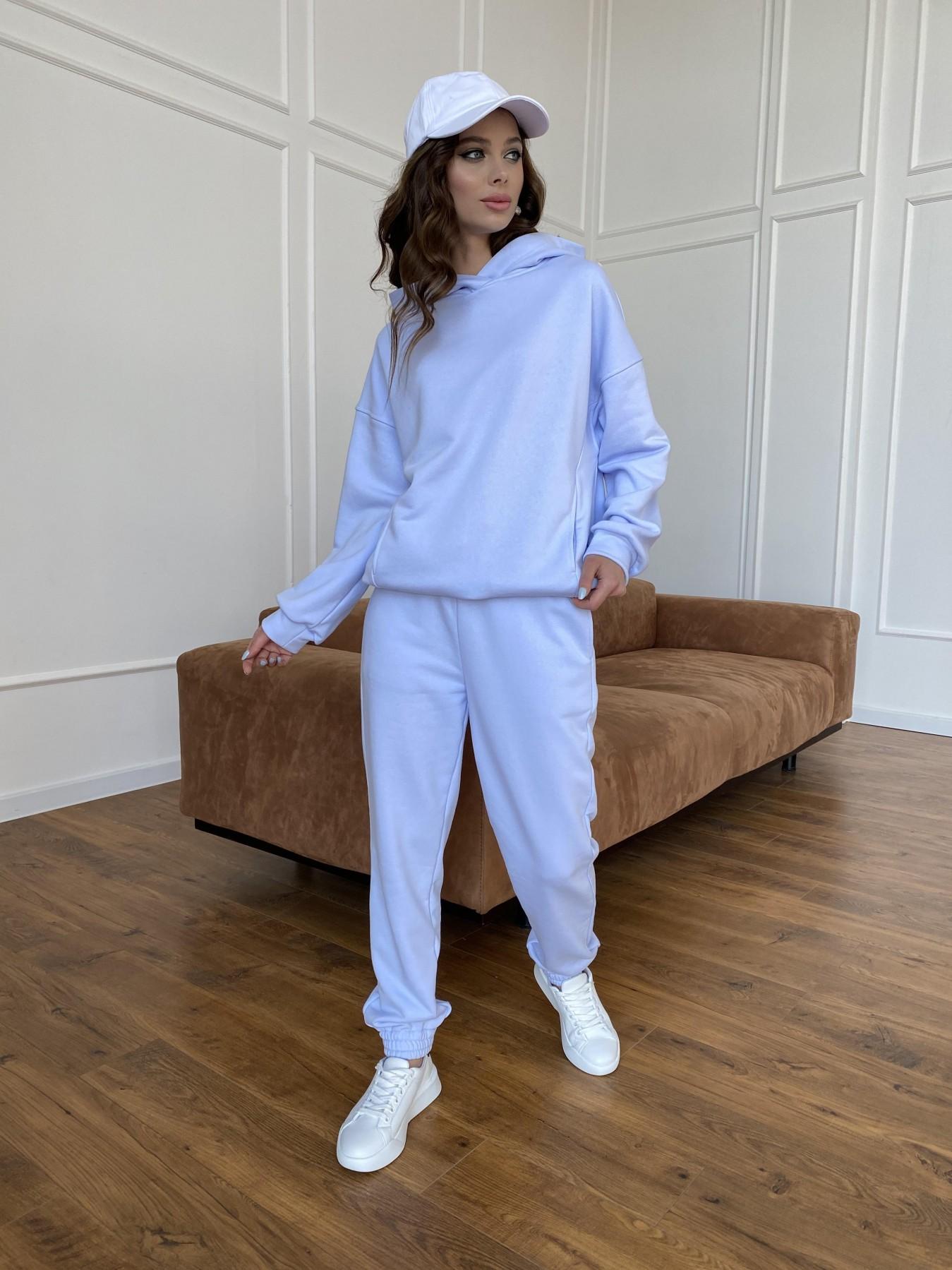 Мечтай костюм  трикотаж 3х нитка 11242 АРТ. 47757 Цвет: Голубой Светлый - фото 4, интернет магазин tm-modus.ru