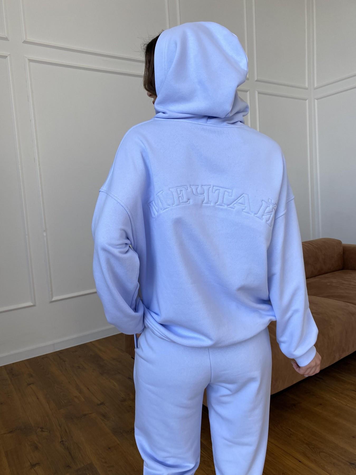 Мечтай костюм  трикотаж 3х нитка 11242 АРТ. 47757 Цвет: Голубой Светлый - фото 8, интернет магазин tm-modus.ru