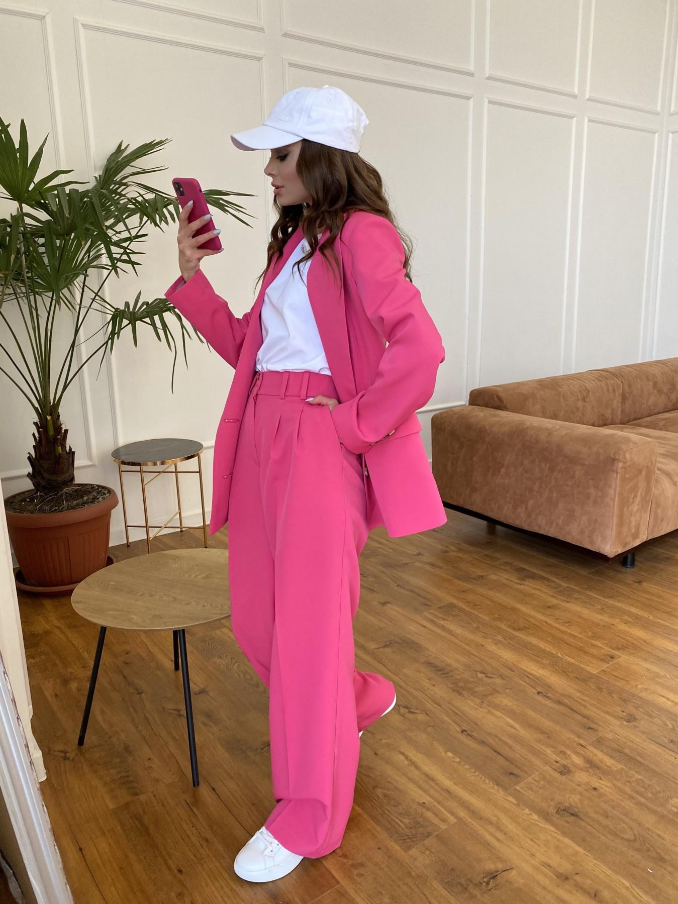 Белисимо  костюм стрейч из костюмной ткани 11217 АРТ. 47720 Цвет: Малиновый - фото 1, интернет магазин tm-modus.ru