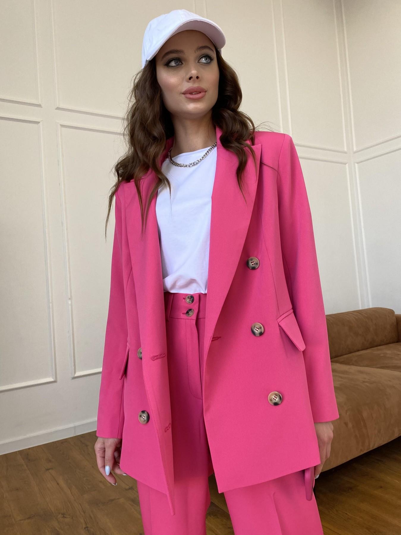 Белисимо  костюм стрейч из костюмной ткани 11217 АРТ. 47720 Цвет: Малиновый - фото 7, интернет магазин tm-modus.ru