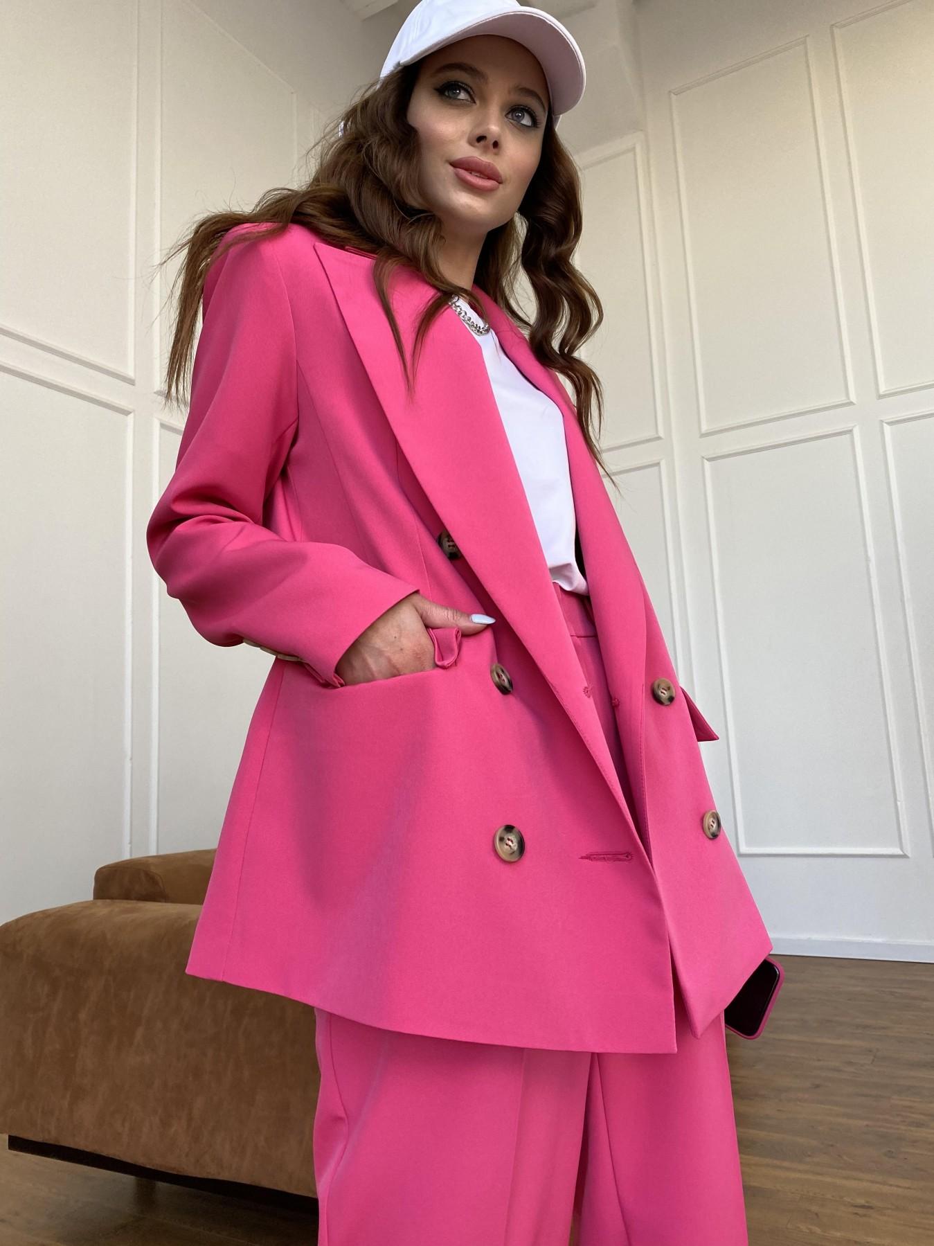 Белисимо  костюм стрейч из костюмной ткани 11217 АРТ. 47720 Цвет: Малиновый - фото 8, интернет магазин tm-modus.ru