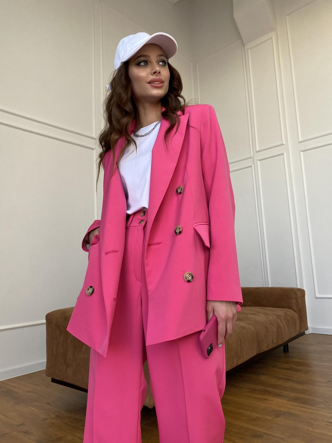 Белисимо  костюм стрейч из костюмной ткани 11217 АРТ. 47720 Цвет: Малиновый - фото 9, интернет магазин tm-modus.ru