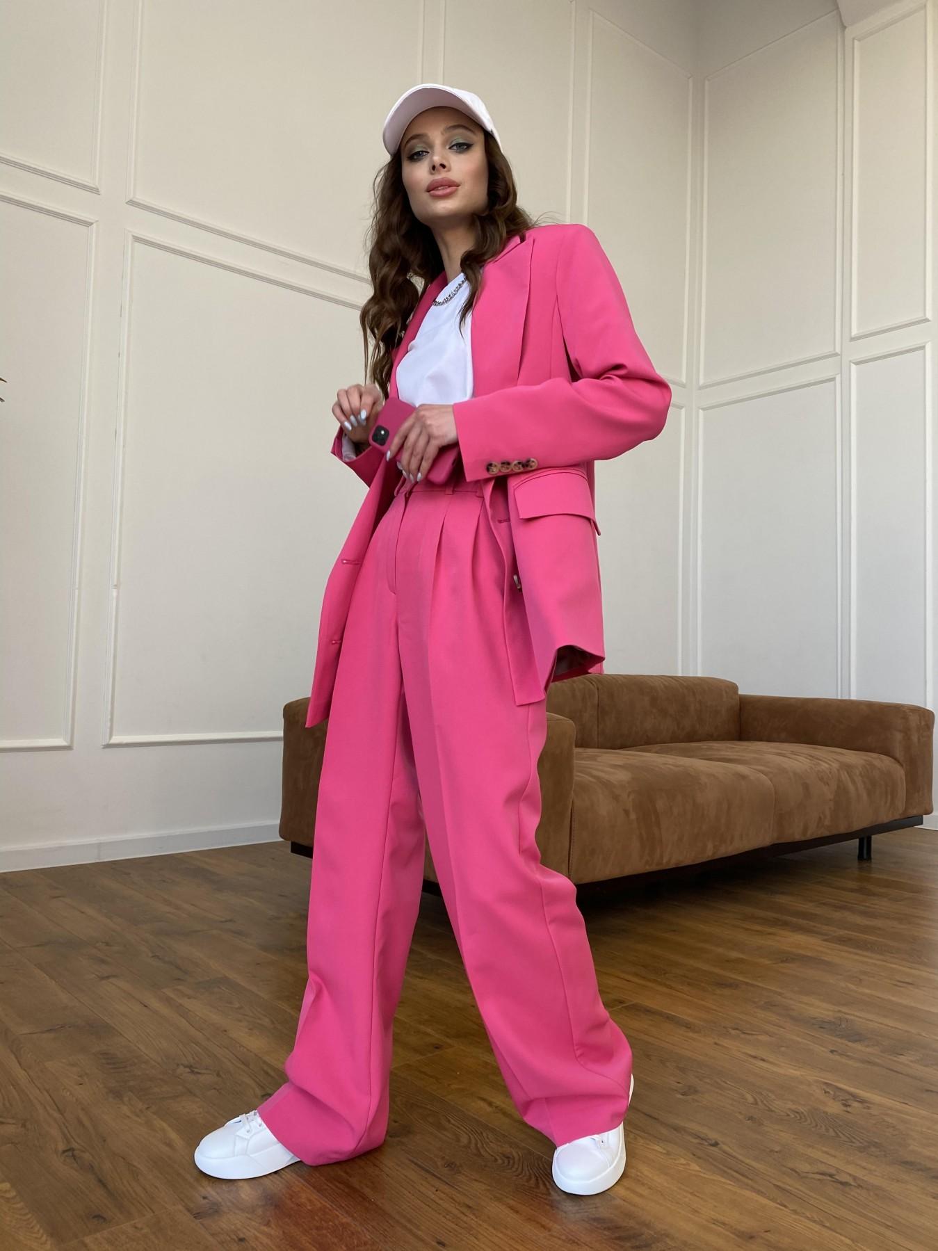 Белисимо  костюм стрейч из костюмной ткани 11217 АРТ. 47720 Цвет: Малиновый - фото 10, интернет магазин tm-modus.ru