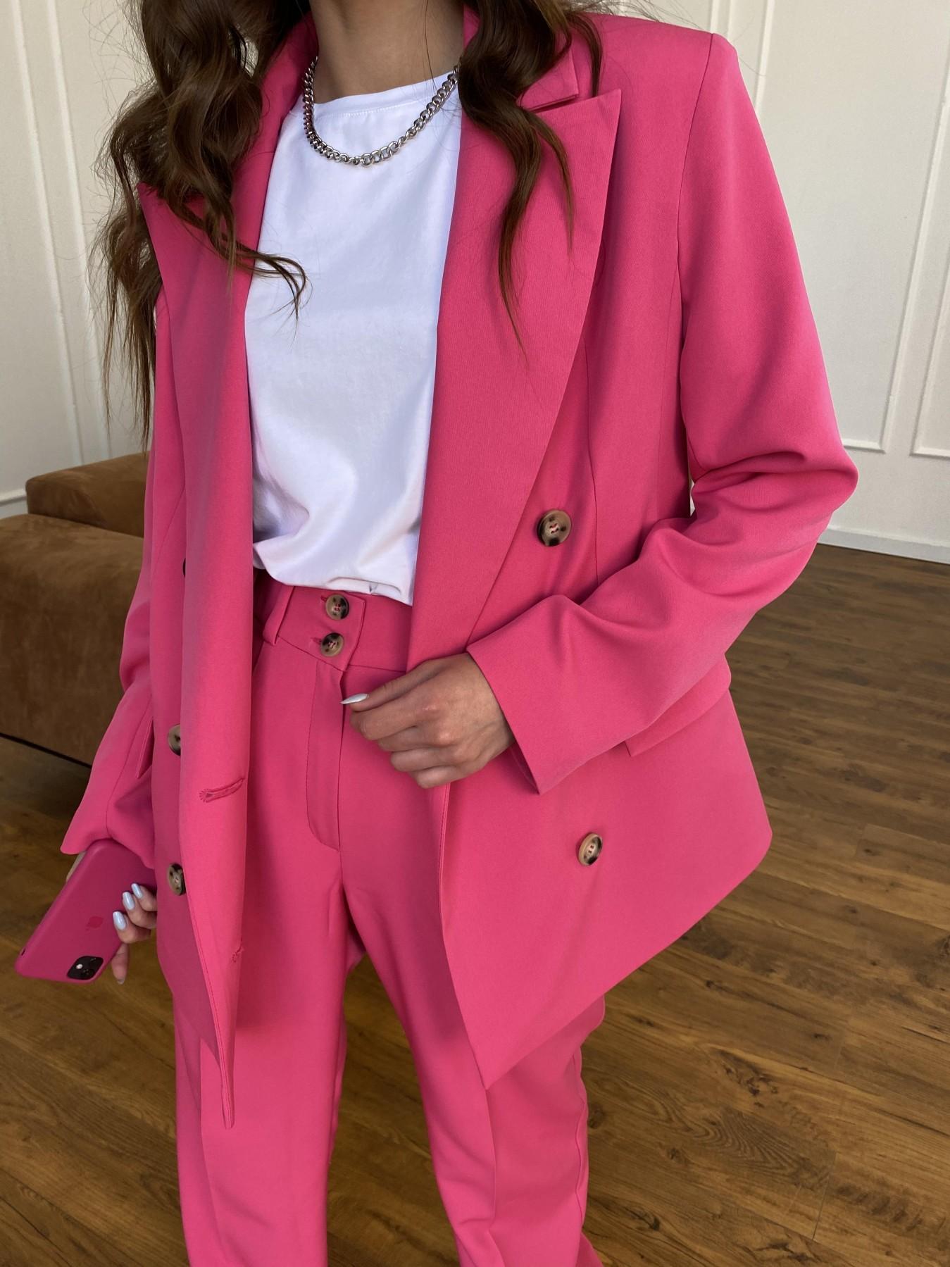 Белисимо  костюм стрейч из костюмной ткани 11217 АРТ. 47720 Цвет: Малиновый - фото 12, интернет магазин tm-modus.ru