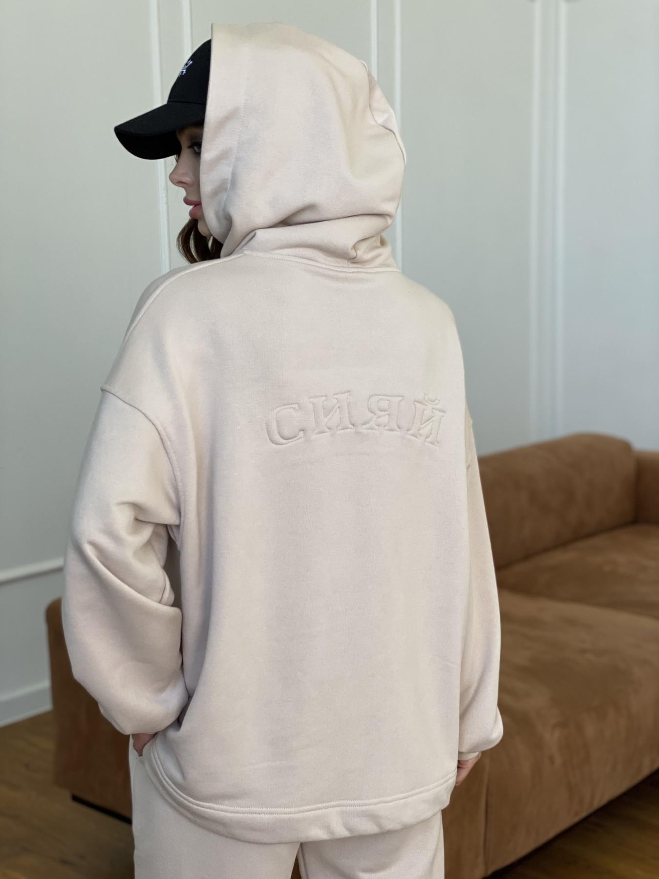 Сияй костюм из  3х нитки с накаткой 11249 АРТ. 47770 Цвет: Бежевый - фото 8, интернет магазин tm-modus.ru