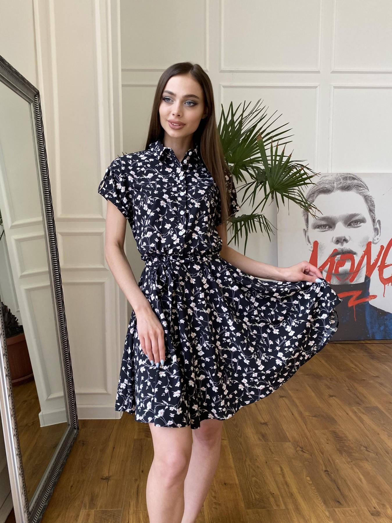 Платья от производителя Санжар платье из ткани софт в принт 11215