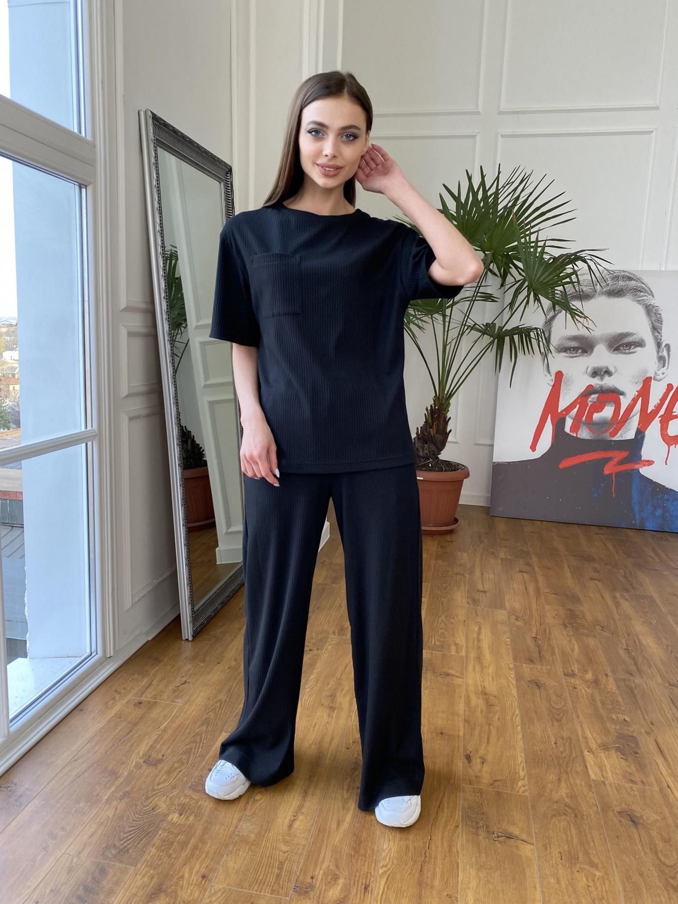 Женская одежда от производителя Modus Джокер костюм из трикотажа в рубчик 11222
