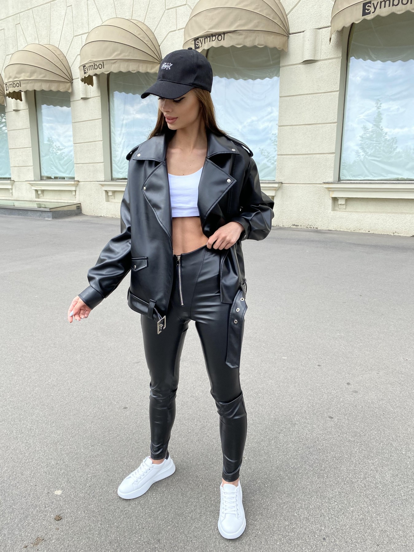 Фора куртка из экокожи прокатанная 11204 АРТ. 47779 Цвет: Черный - фото 6, интернет магазин tm-modus.ru