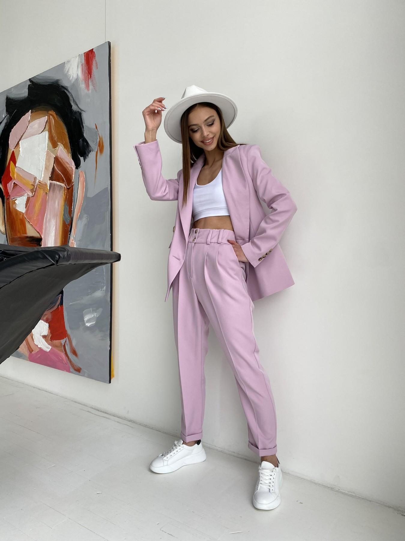 Франко костюм из костюмной ткани 11090 АРТ. 47797 Цвет: Пудра - фото 6, интернет магазин tm-modus.ru
