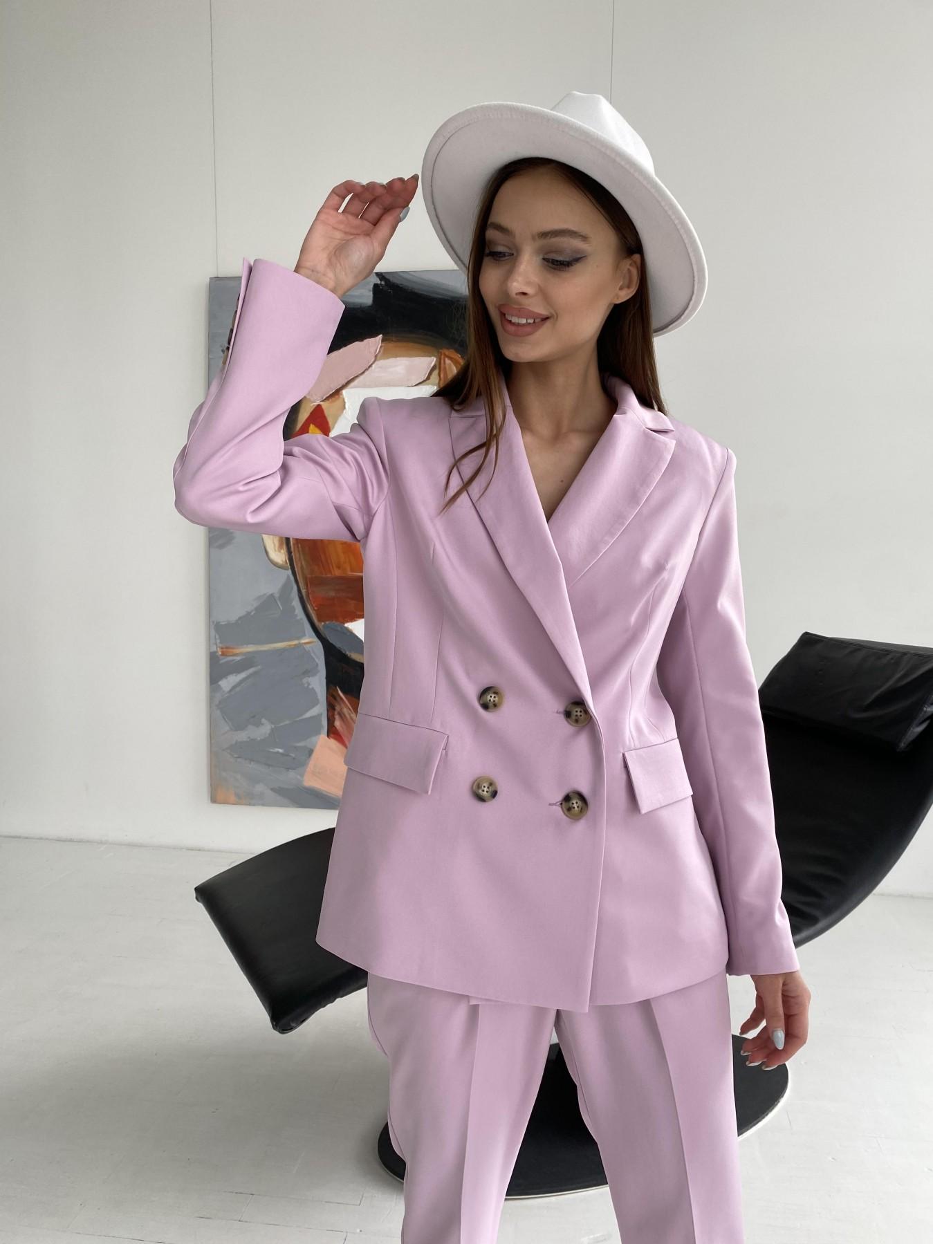 Франко костюм из костюмной ткани 11090 АРТ. 47797 Цвет: Пудра - фото 9, интернет магазин tm-modus.ru