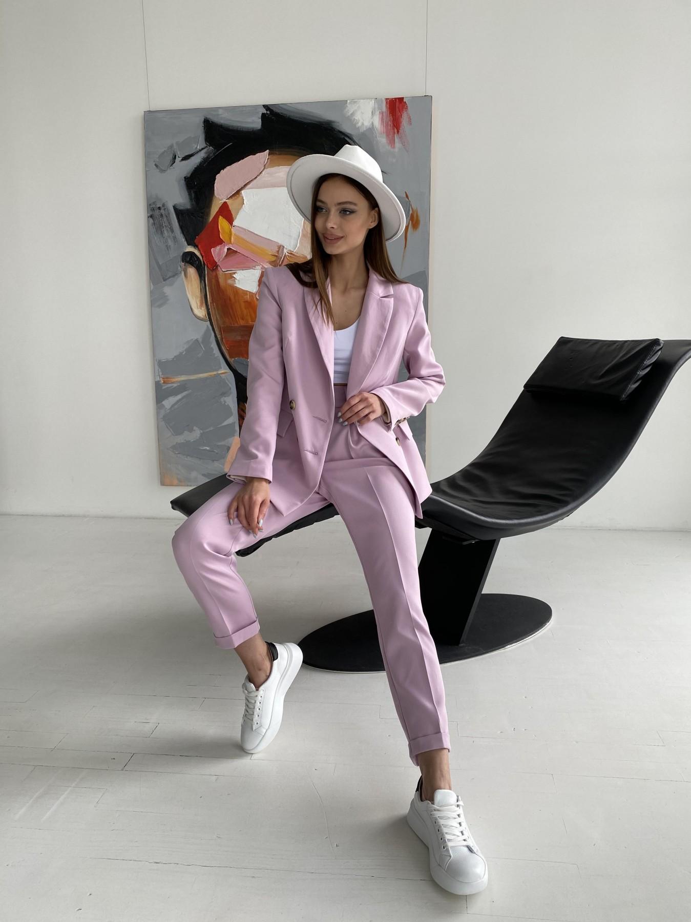 Франко костюм из костюмной ткани 11090 АРТ. 47797 Цвет: Пудра - фото 12, интернет магазин tm-modus.ru