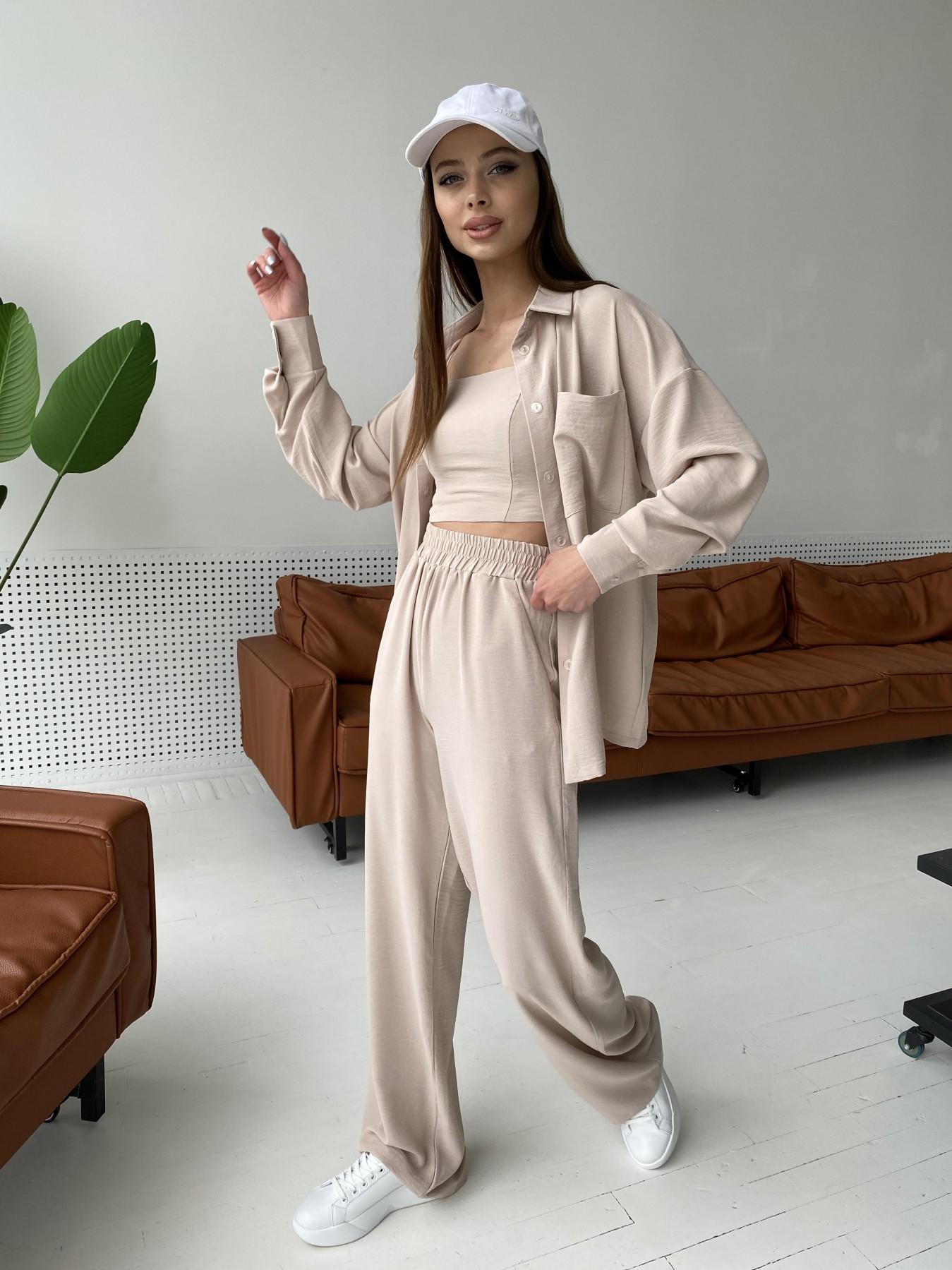 Женская одежда оптом от производителя Рико костюм американский из креп ткани 11293
