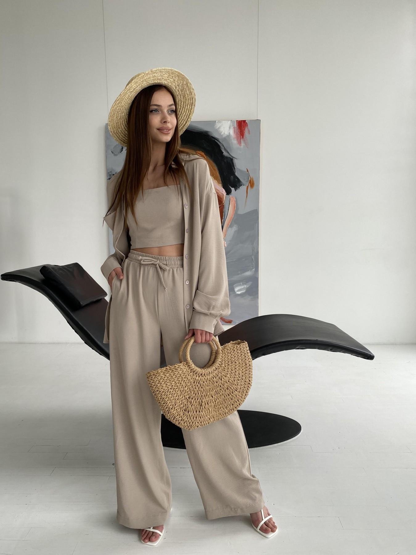 Женские костюмы оптом от производителя Modus Квадро костюм американский из ткани креп (4 ед) 11303