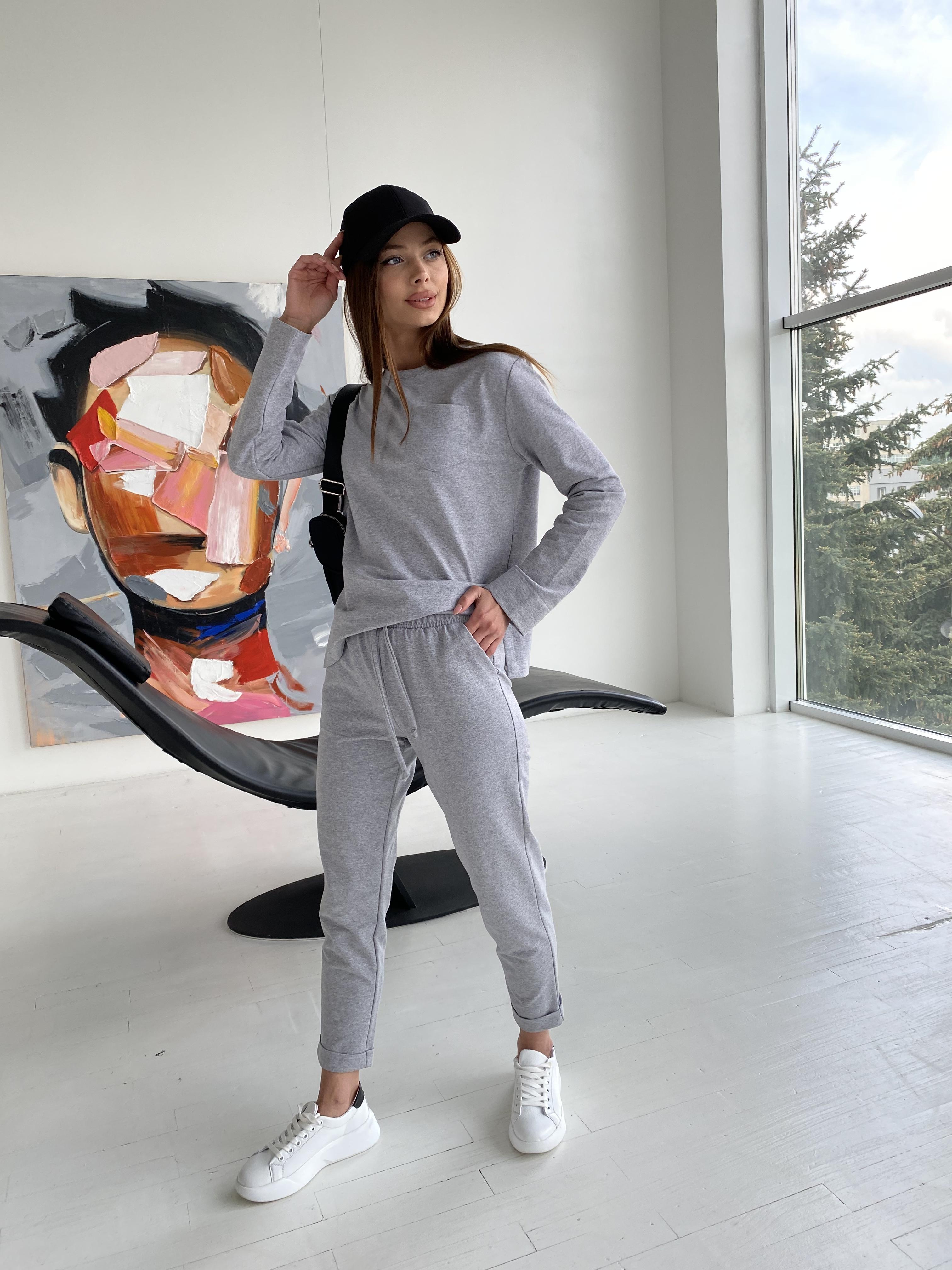 Женская одежда оптом от производителя Мови  прогулочный костюм из трикотажа двунитка  9546