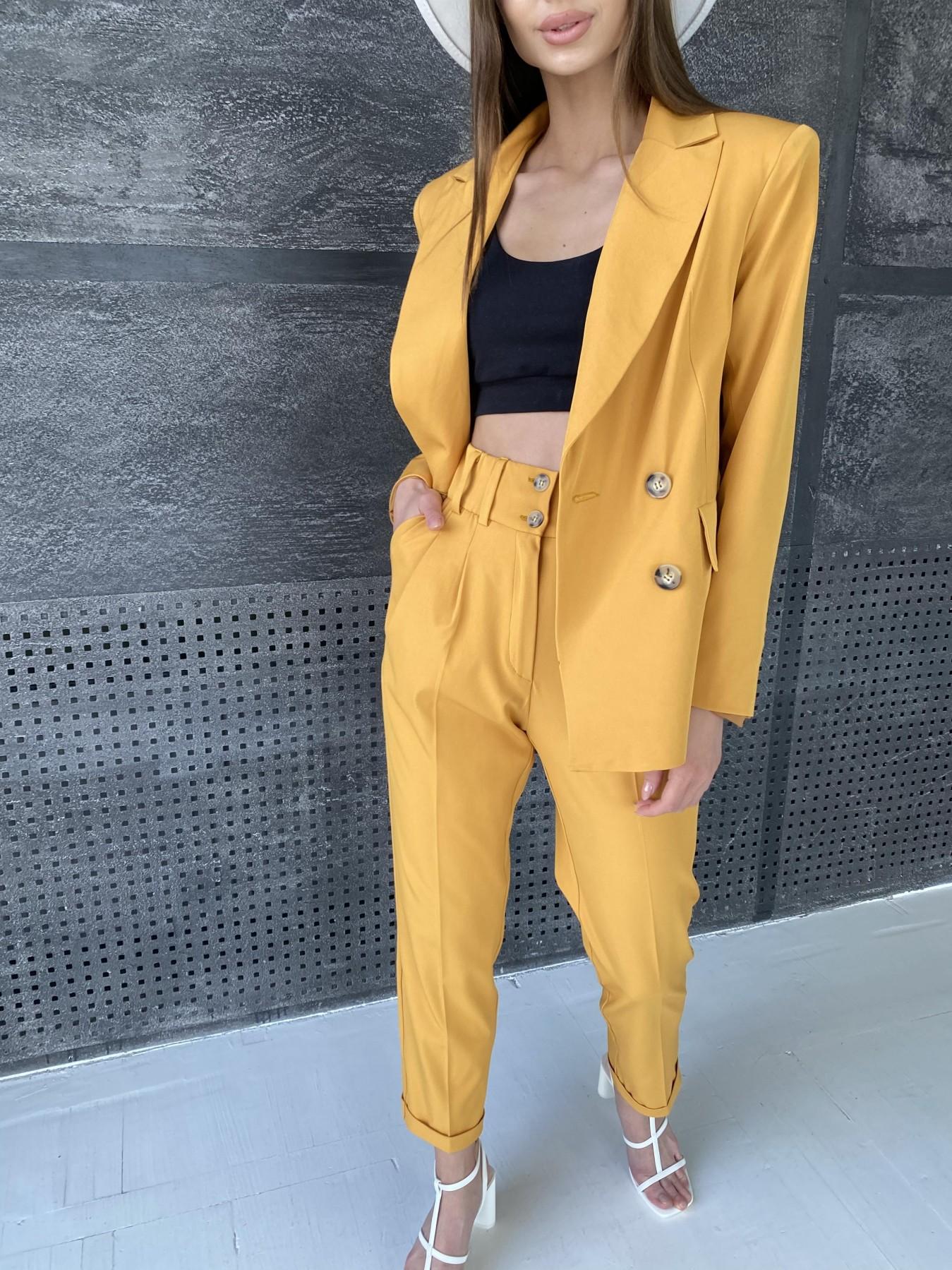 Франко костюм из костюмной ткани 11090 АРТ. 47891 Цвет: Горчица Темная - фото 4, интернет магазин tm-modus.ru