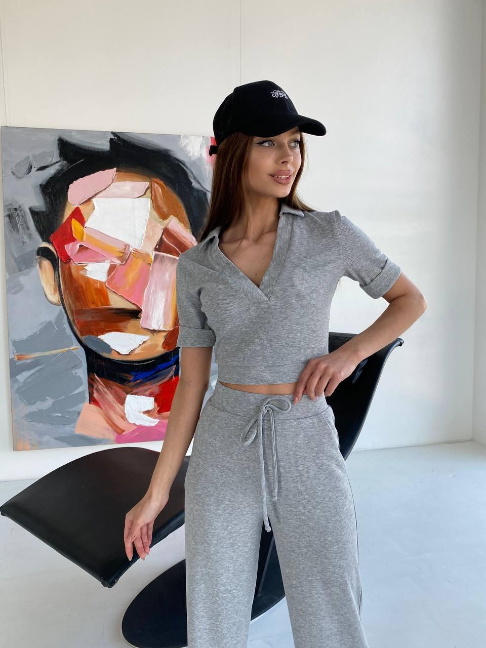 Женская одежда оптом от производителя  Гольф костюм 11390