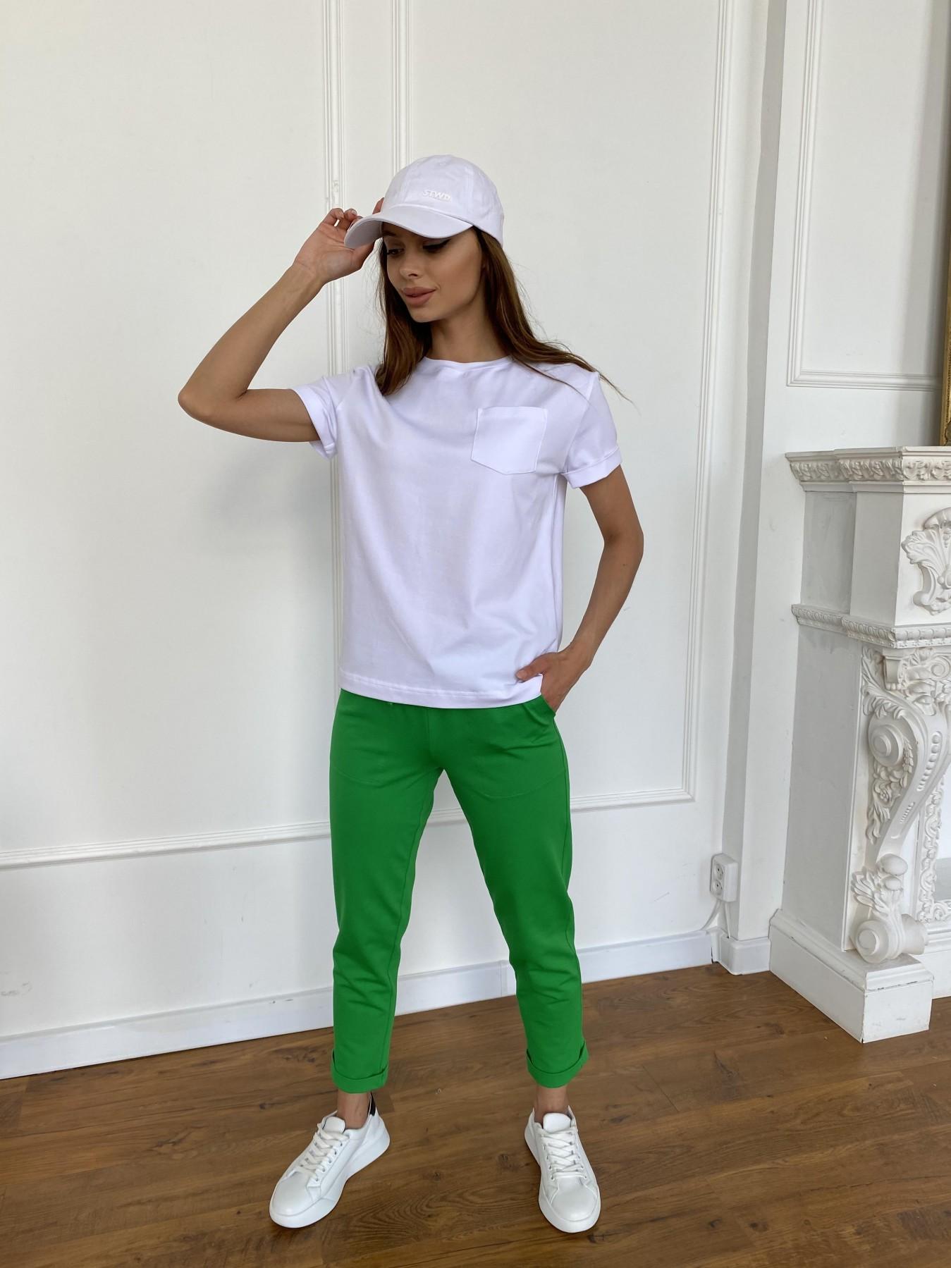 Вуди футболка из вискозы 11224 АРТ. 47750 Цвет: Белый - фото 4, интернет магазин tm-modus.ru