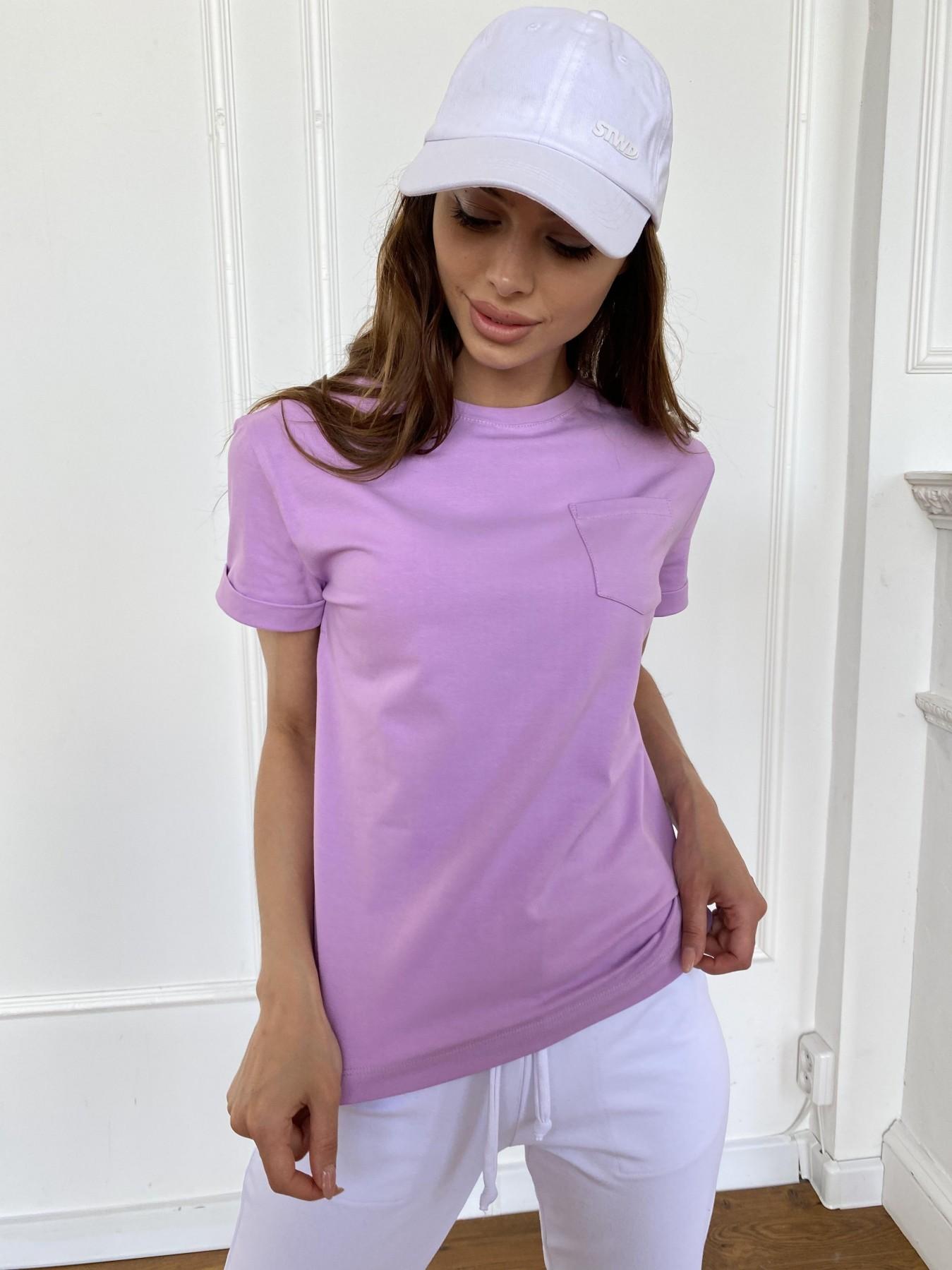 Вуди футболка из вискозы 11224 АРТ. 47879 Цвет: Лаванда - фото 4, интернет магазин tm-modus.ru
