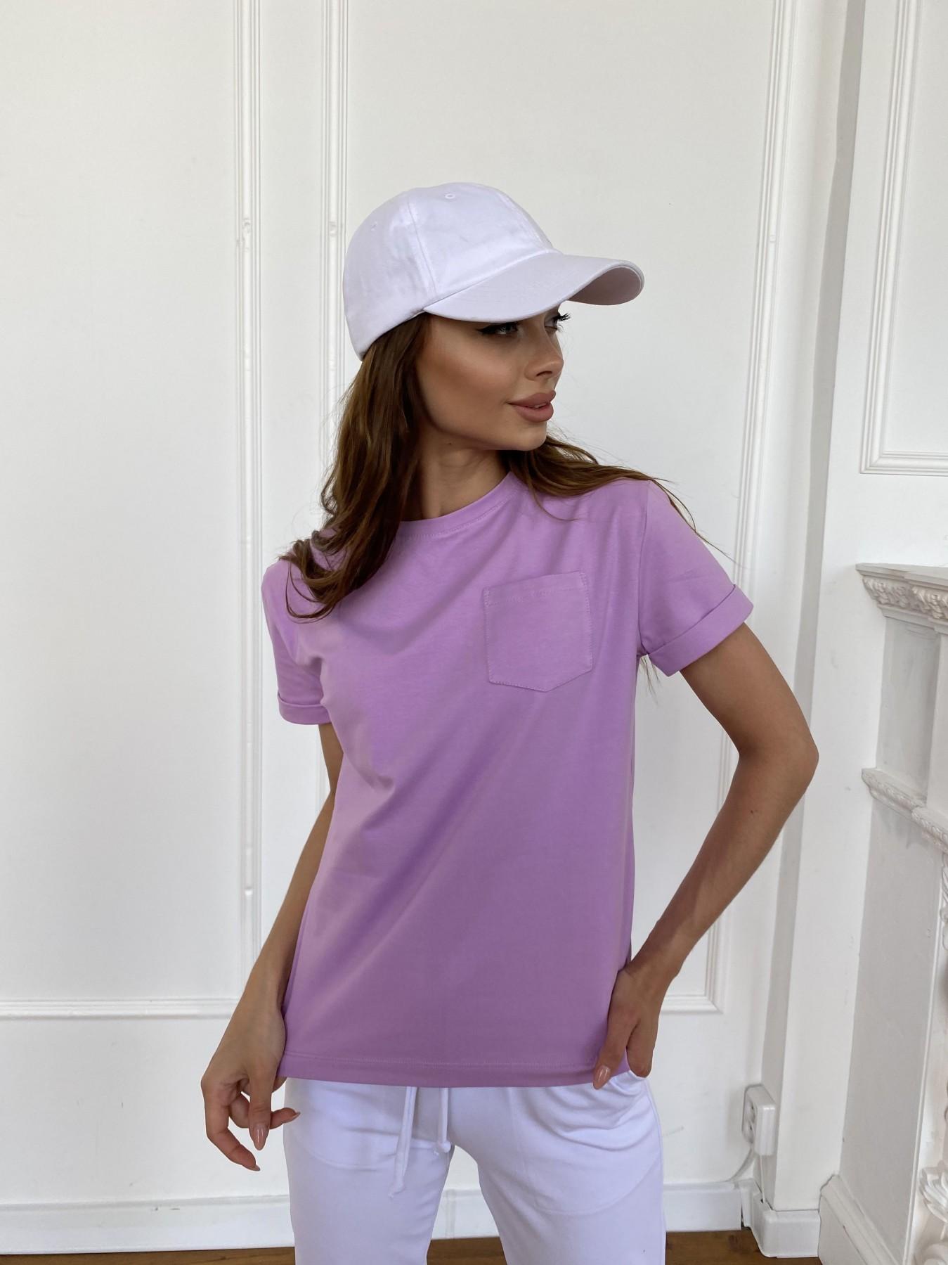 Вуди футболка из вискозы 11224 АРТ. 47879 Цвет: Лаванда - фото 6, интернет магазин tm-modus.ru