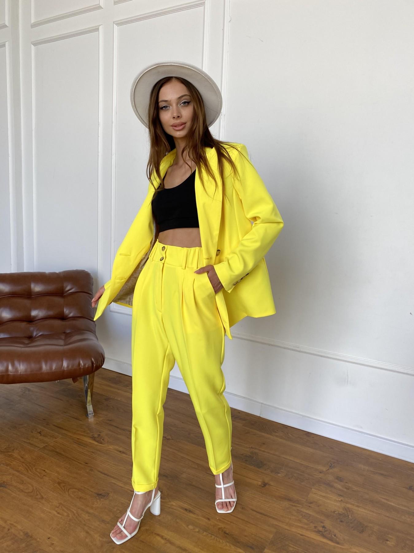 Франко костюм из костюмной ткани 11090 АРТ. 47907 Цвет: Желтый 10 - фото 3, интернет магазин tm-modus.ru