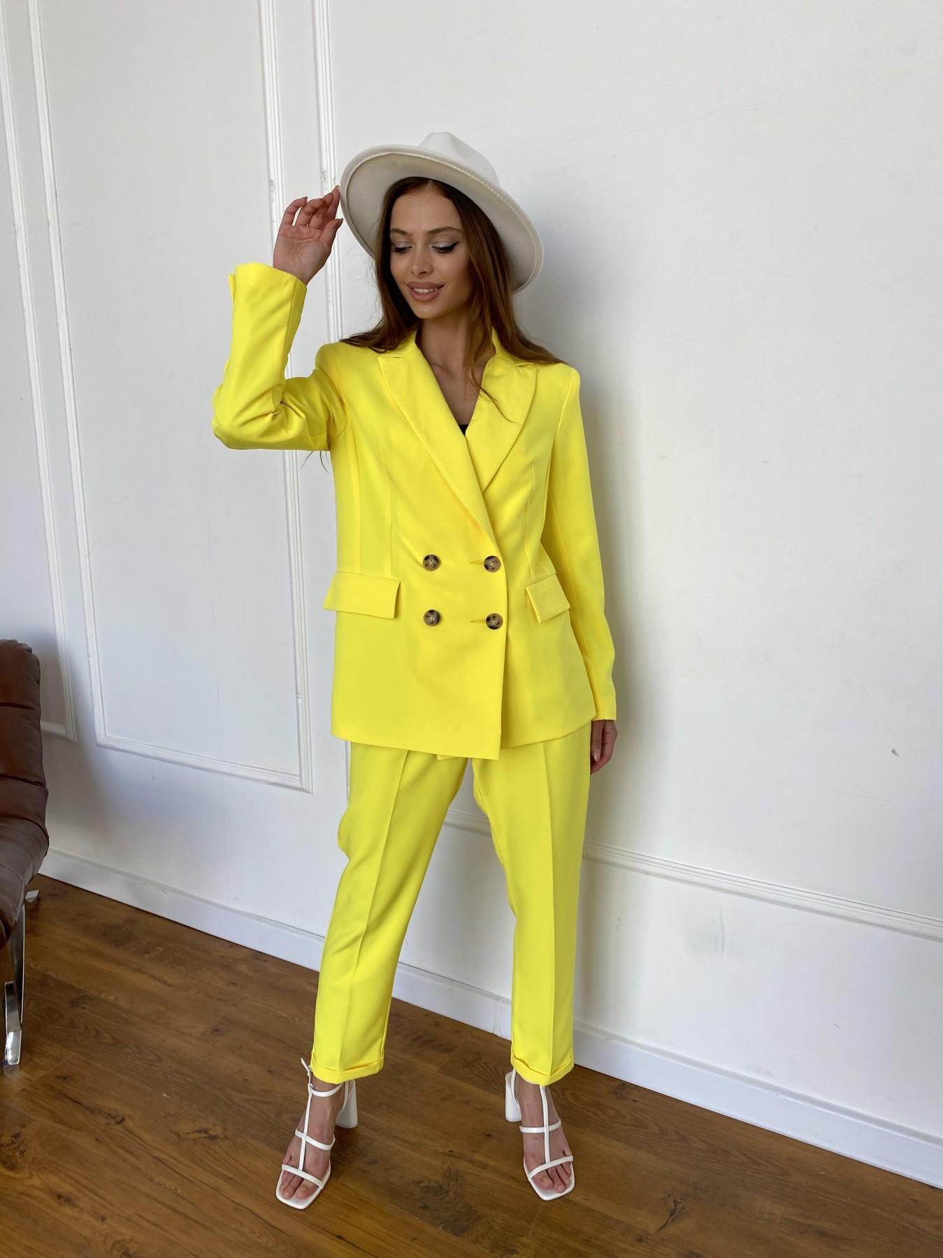 Франко костюм из костюмной ткани 11090 АРТ. 47907 Цвет: Желтый 10 - фото 10, интернет магазин tm-modus.ru