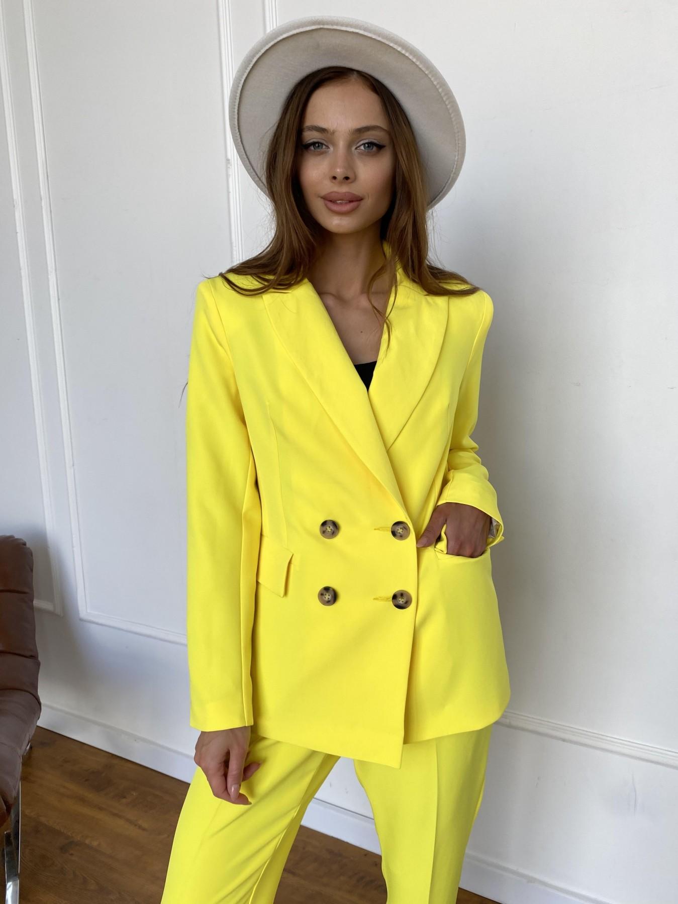 Франко костюм из костюмной ткани 11090 АРТ. 47907 Цвет: Желтый 10 - фото 11, интернет магазин tm-modus.ru
