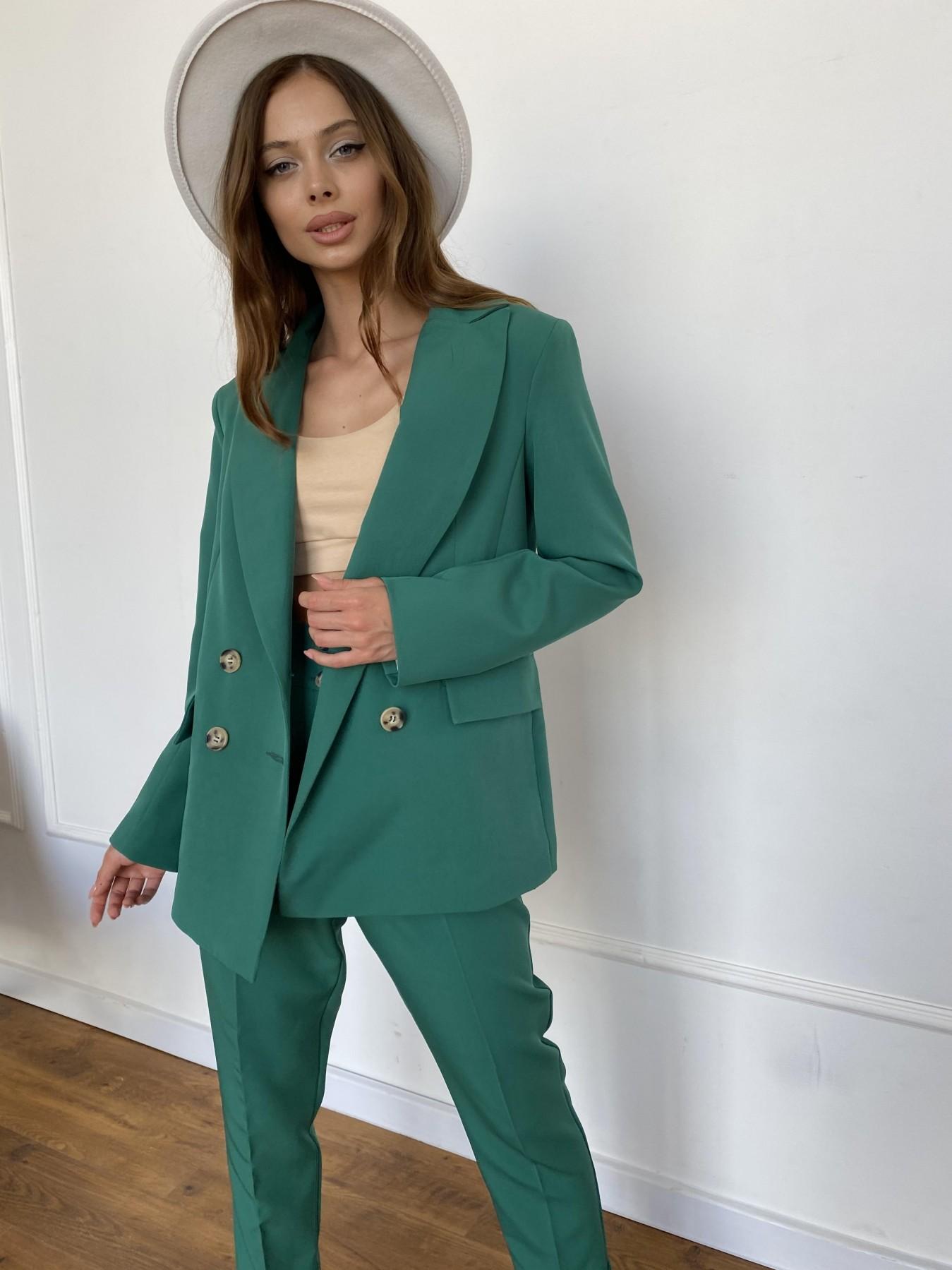 Франко костюм из костюмной ткани 11090 АРТ. 47898 Цвет: Зеленый - фото 2, интернет магазин tm-modus.ru
