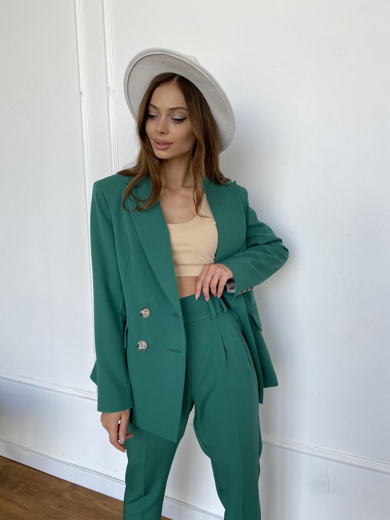 Франко костюм из костюмной ткани 11090 АРТ. 47898 Цвет: Зеленый - фото 5, интернет магазин tm-modus.ru