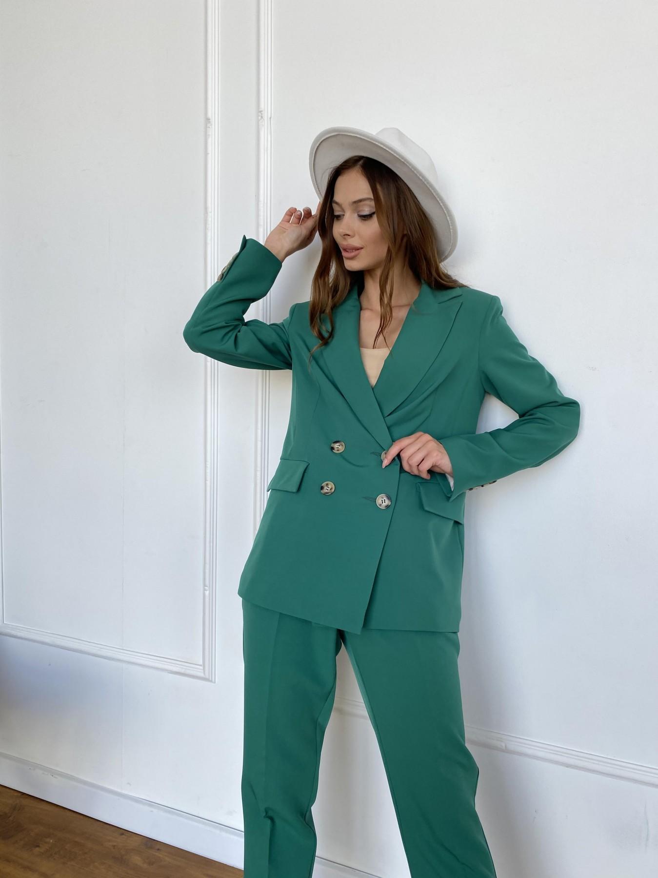 Франко костюм из костюмной ткани 11090 АРТ. 47898 Цвет: Зеленый - фото 8, интернет магазин tm-modus.ru