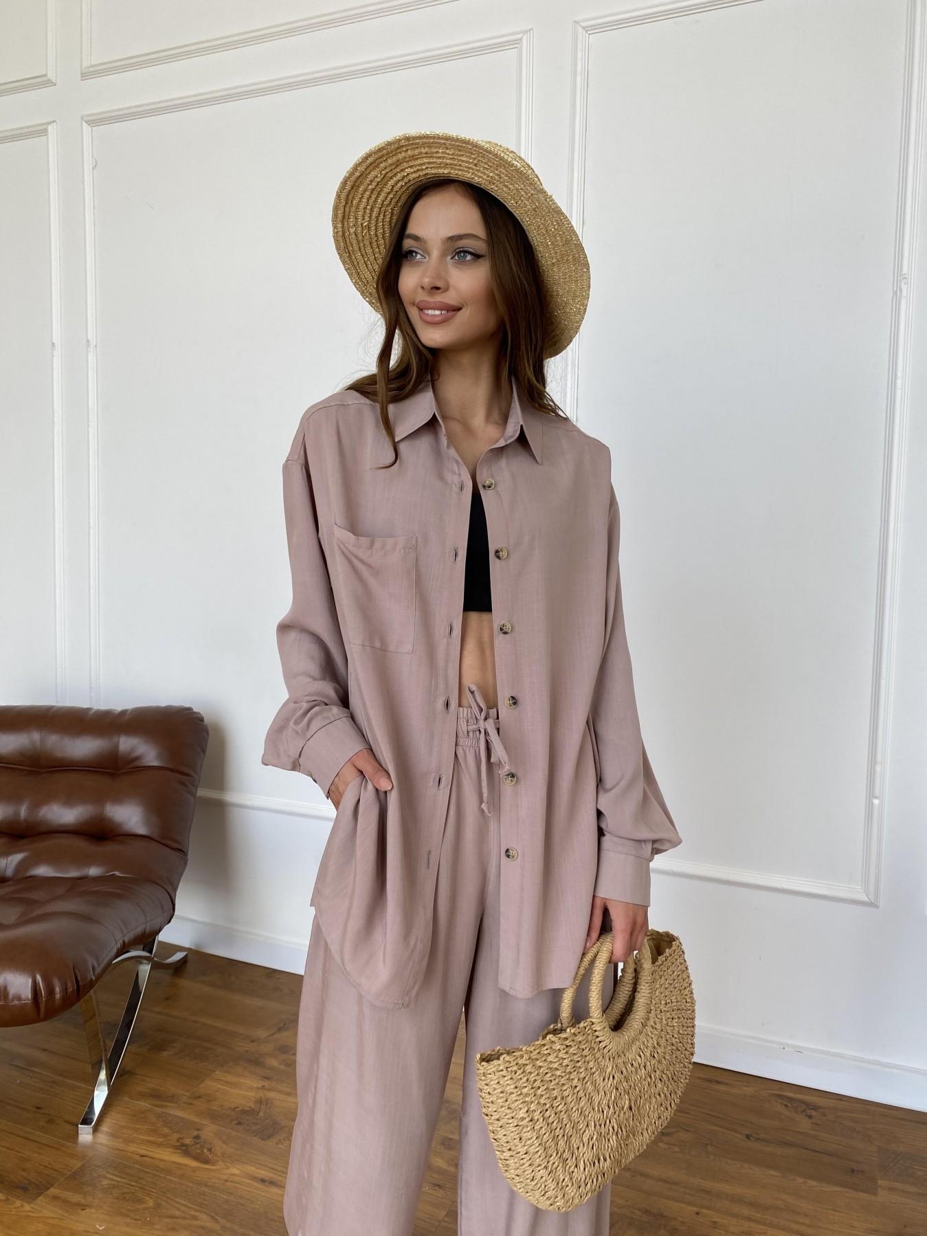 Женская одежда от производителя Modus Дуэтто костюм из льна и вискозы не стрейч 11415