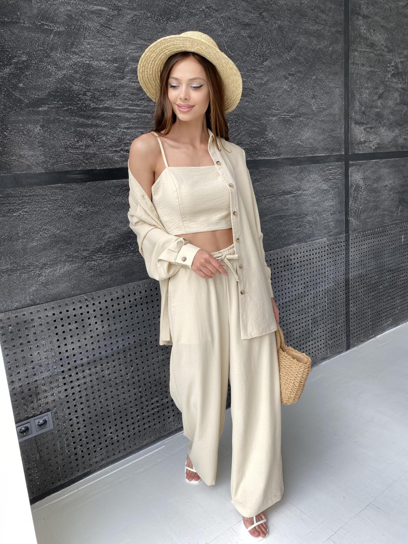 Женская одежда оптом Украина Modus Квадро костюм американский из ткани креп (4 ед) 11303