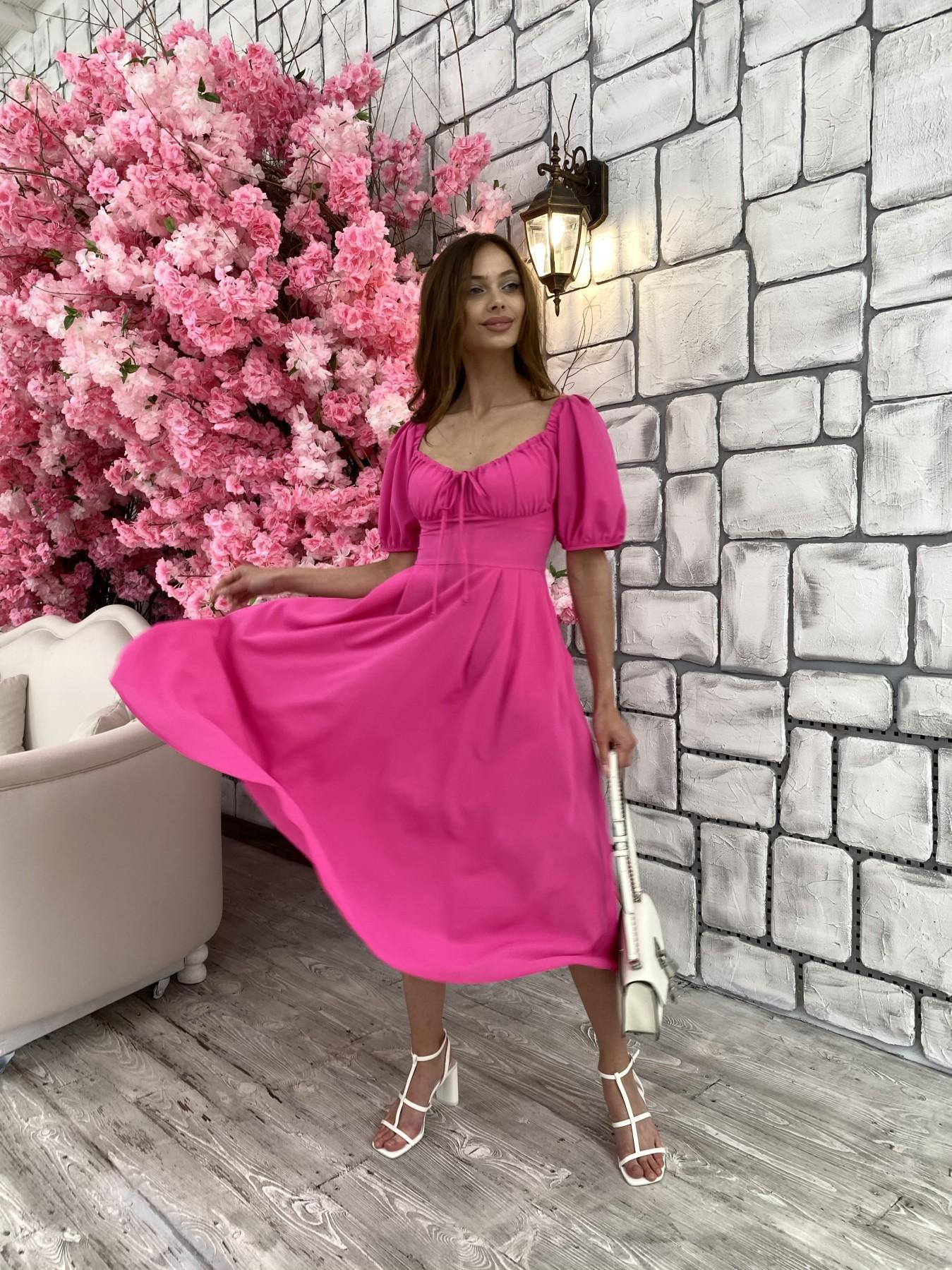 Платья оптом Украина недорого от Модус Кисес Миди платье из шифона креп 11443