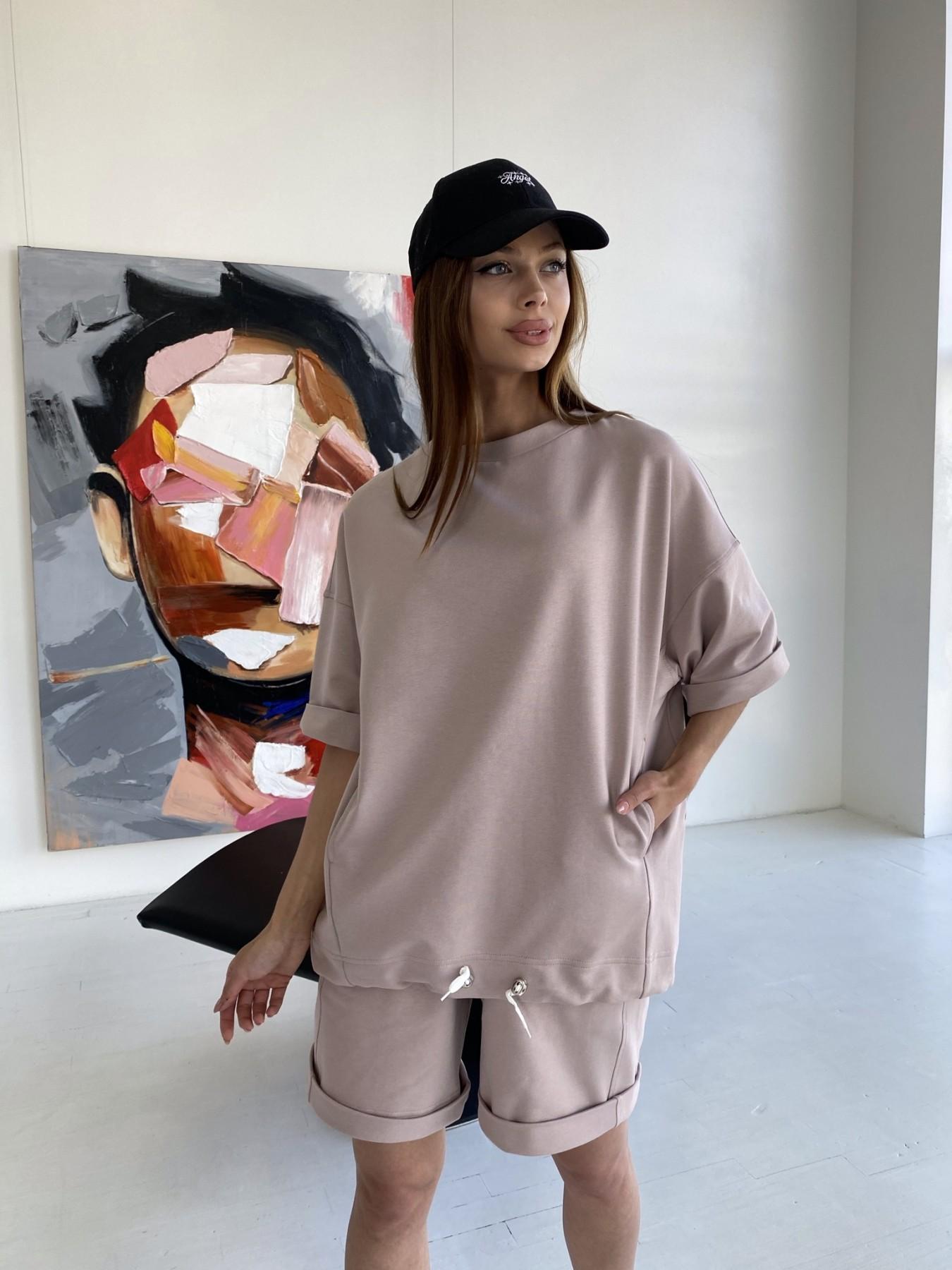 Женская одежда оптом от производителя Фарт 3 костюм трикотажный 2х нитка из вискозы 11394