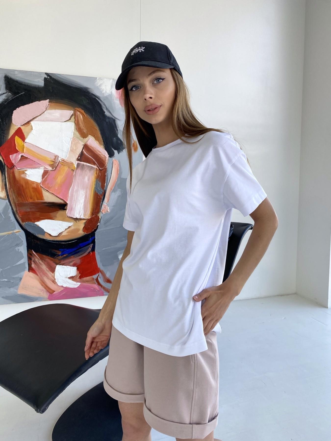Фарт 3 костюм трикотажный 2х нитка из вискозы 11394 АРТ. 47931 Цвет: Пудра/белый - фото 9, интернет магазин tm-modus.ru