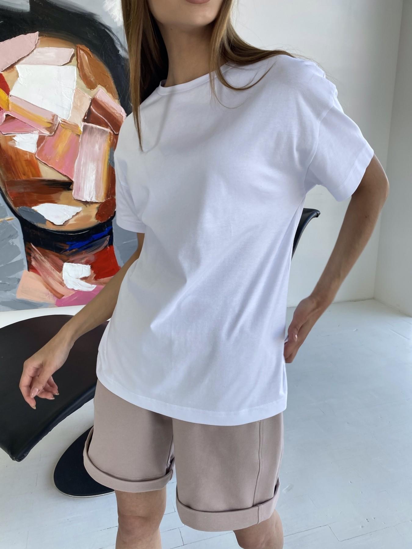 Фарт 3 костюм трикотажный 2х нитка из вискозы 11394 АРТ. 47931 Цвет: Пудра/белый - фото 12, интернет магазин tm-modus.ru
