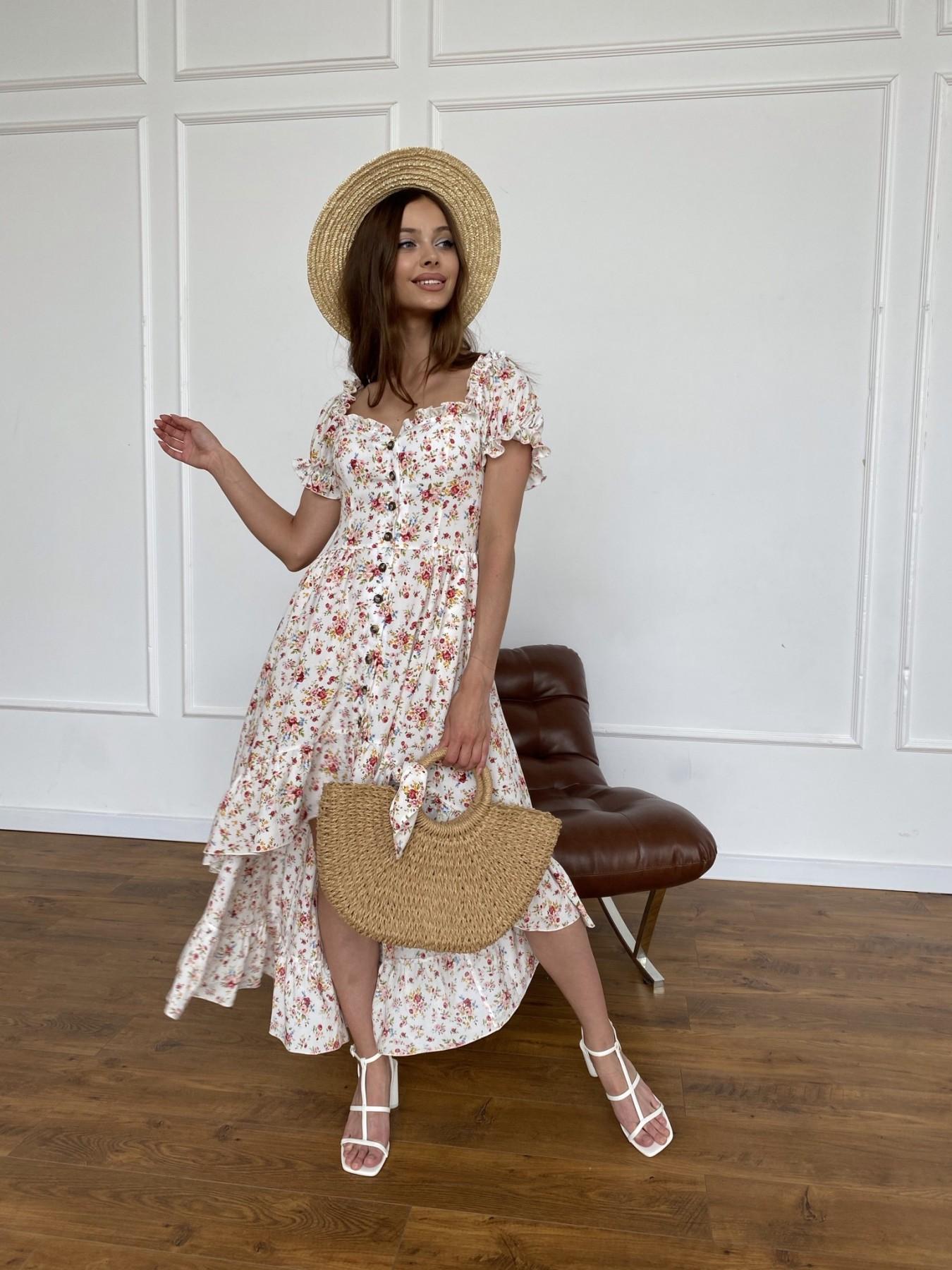 Платье оптом от производителя Modus Нежность платье штапель принт 11420