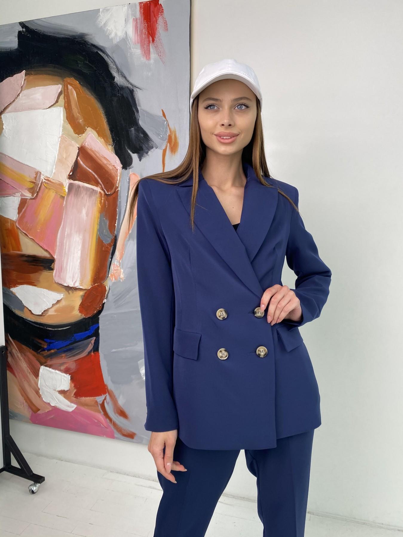 Франко костюм из костюмной ткани 11090 АРТ. 47972 Цвет: Т.синий - фото 1, интернет магазин tm-modus.ru