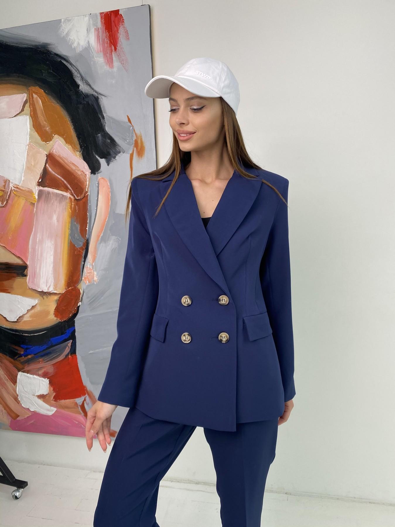 Франко костюм из костюмной ткани 11090 АРТ. 47972 Цвет: Т.синий - фото 2, интернет магазин tm-modus.ru