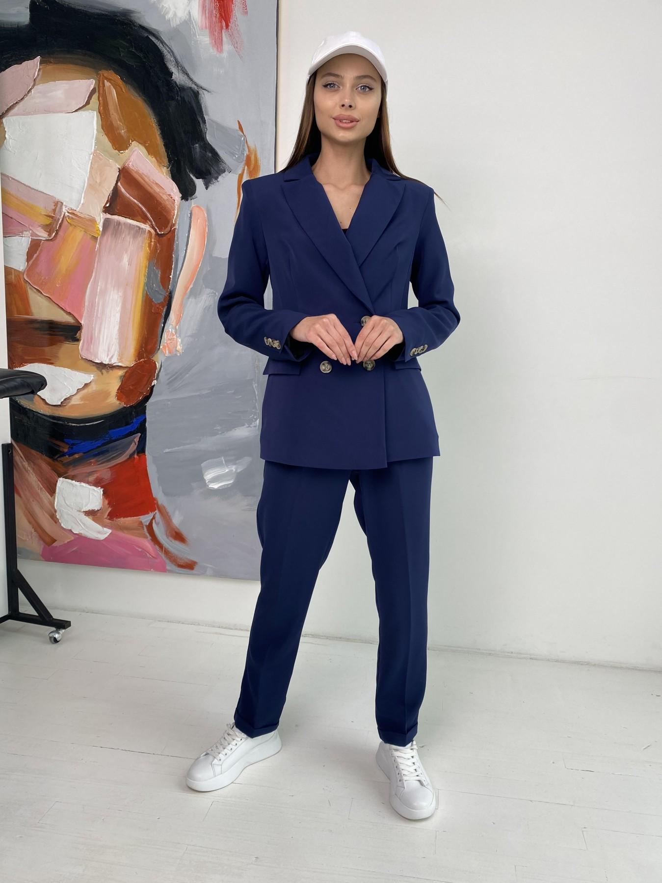 Франко костюм из костюмной ткани 11090 АРТ. 47972 Цвет: Т.синий - фото 4, интернет магазин tm-modus.ru