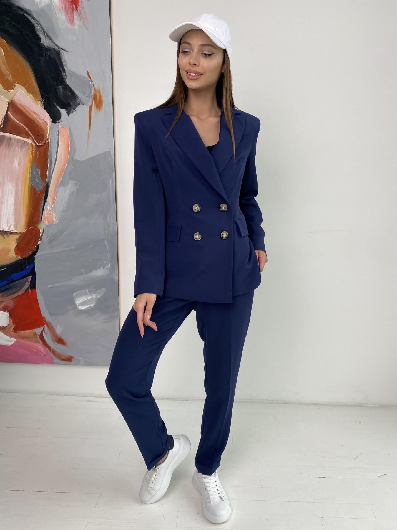 Франко костюм из костюмной ткани 11090 АРТ. 47972 Цвет: Т.синий - фото 5, интернет магазин tm-modus.ru