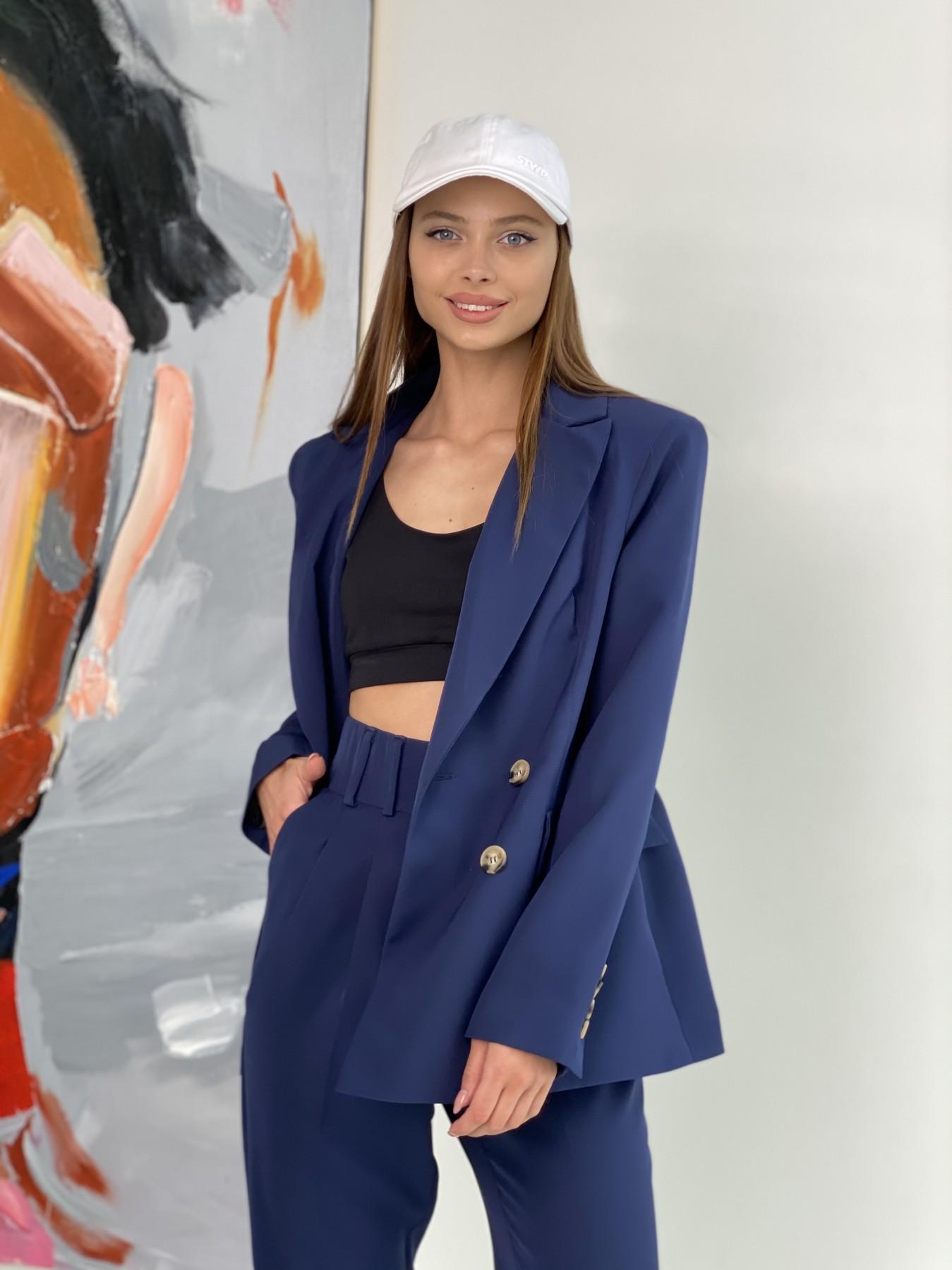 Франко костюм из костюмной ткани 11090 АРТ. 47972 Цвет: Т.синий - фото 7, интернет магазин tm-modus.ru
