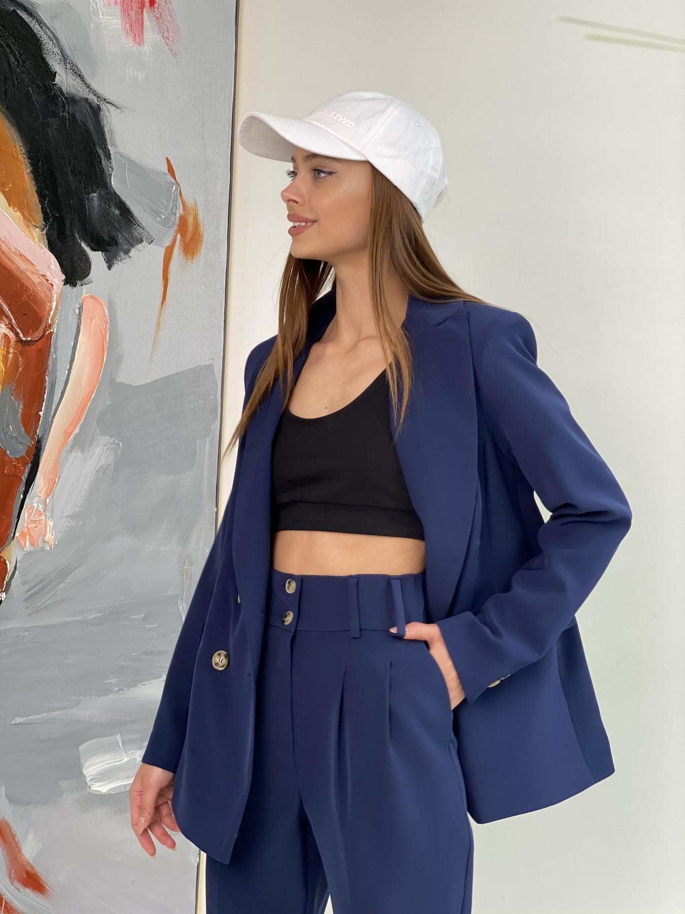 Франко костюм из костюмной ткани 11090 АРТ. 47972 Цвет: Т.синий - фото 9, интернет магазин tm-modus.ru