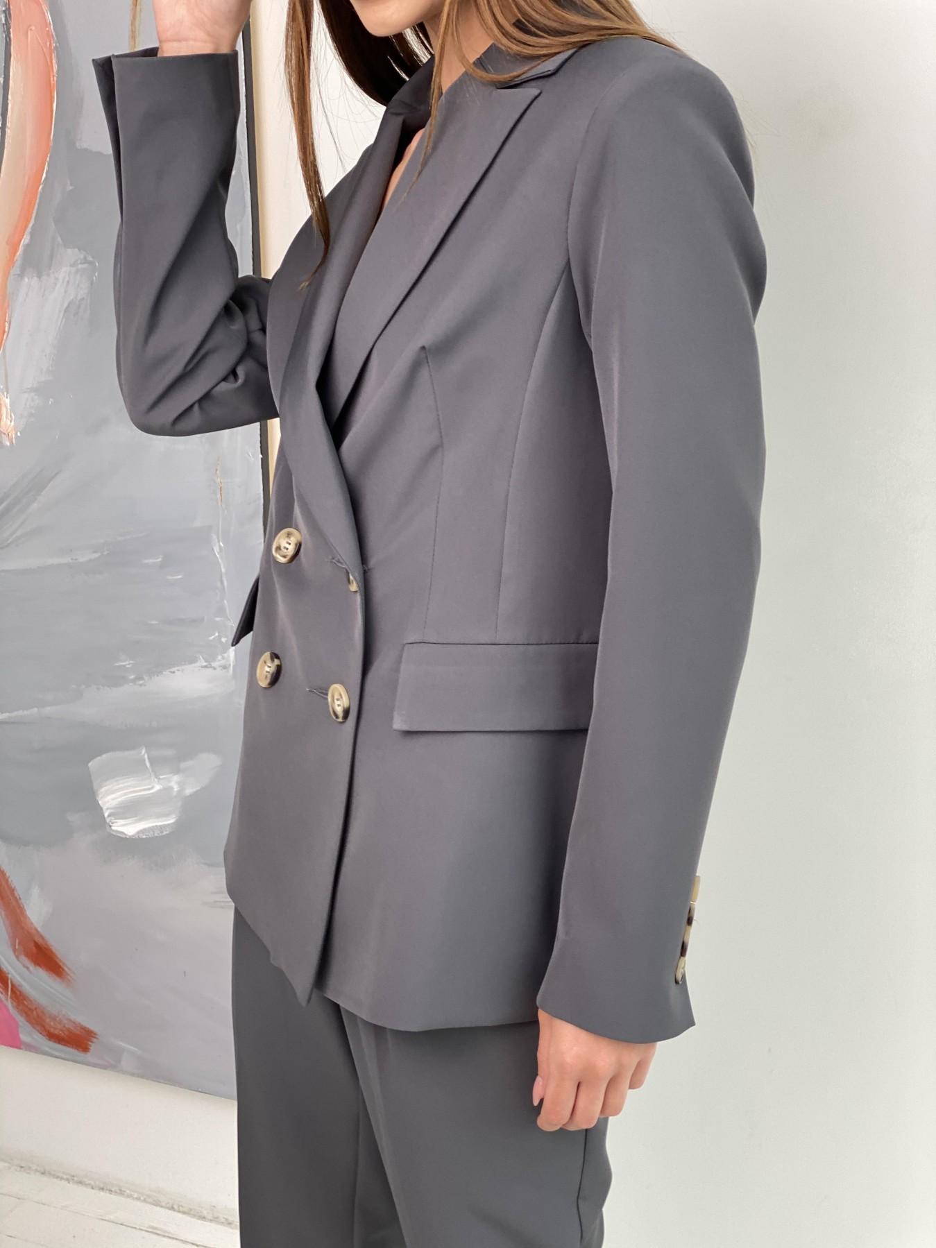 Франко костюм из костюмной ткани 11090 АРТ. 47975 Цвет: Графит - фото 4, интернет магазин tm-modus.ru