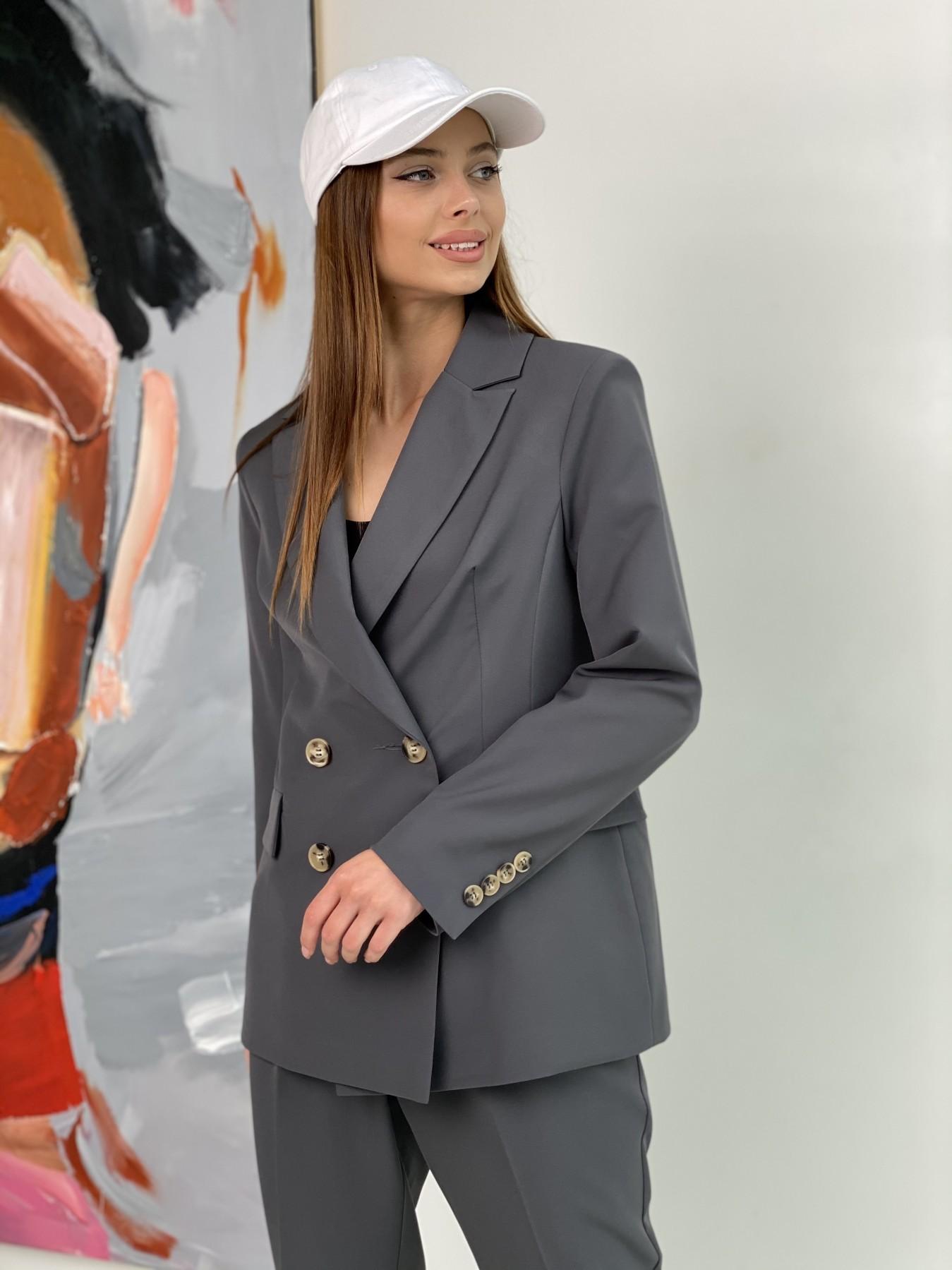 Франко костюм из костюмной ткани 11090 АРТ. 47975 Цвет: Графит - фото 6, интернет магазин tm-modus.ru